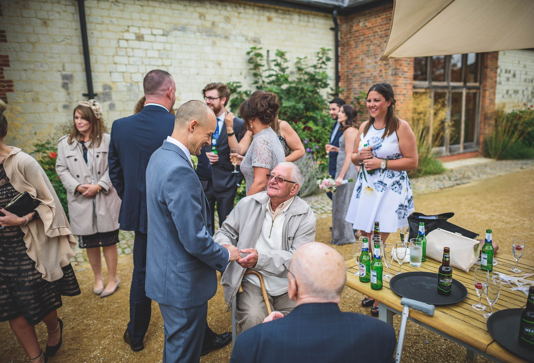 Bury Court Barn wedding photography - Guy Collier Photography - Karen and John (108 of 166)