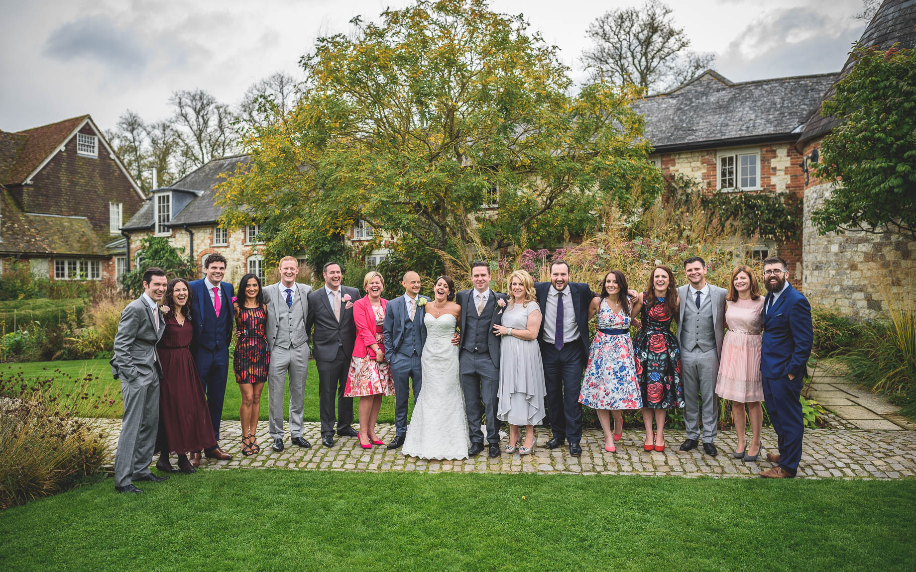 Bury Court Barn wedding photography - Guy Collier Photography - Karen and John (109 of 166)