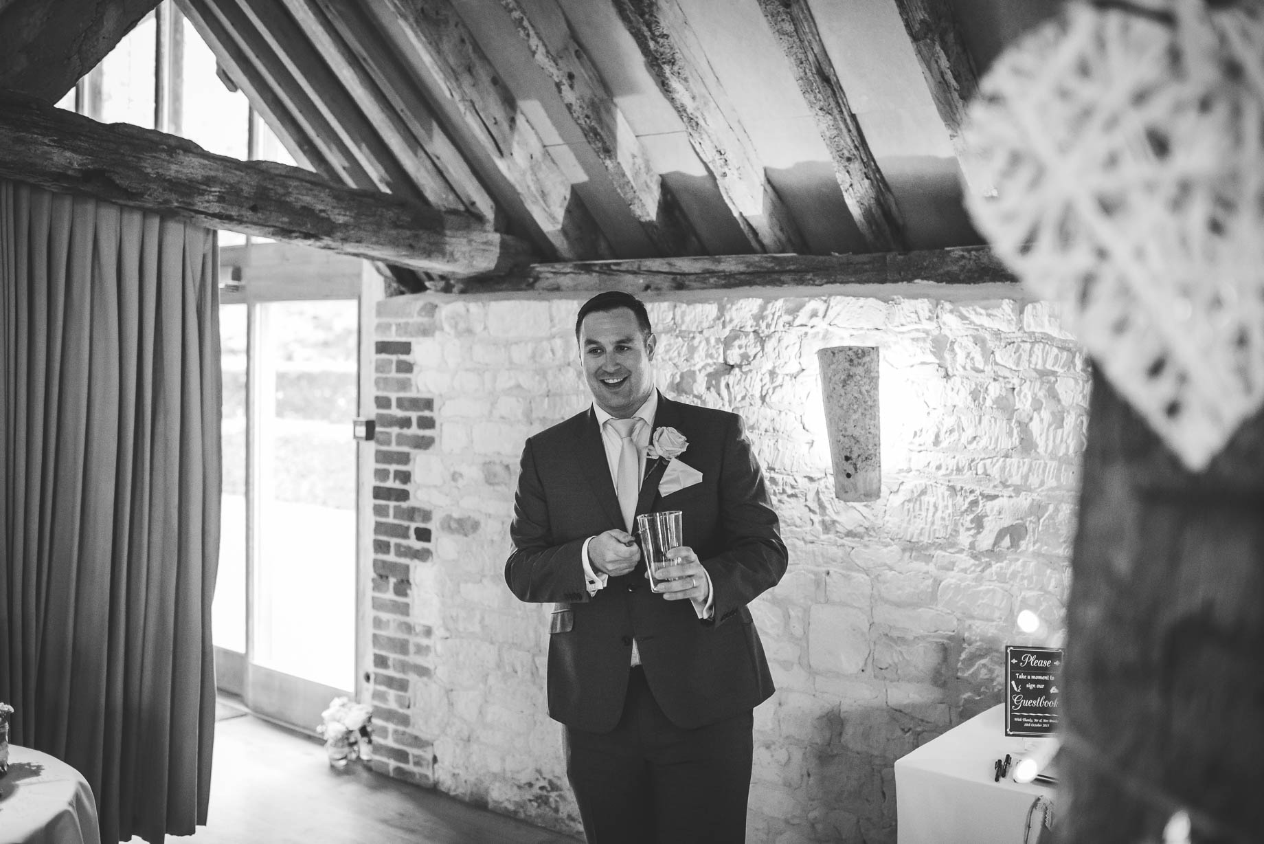 Bury Court Barn wedding photography - Guy Collier Photography - Karen and John (117 of 166)