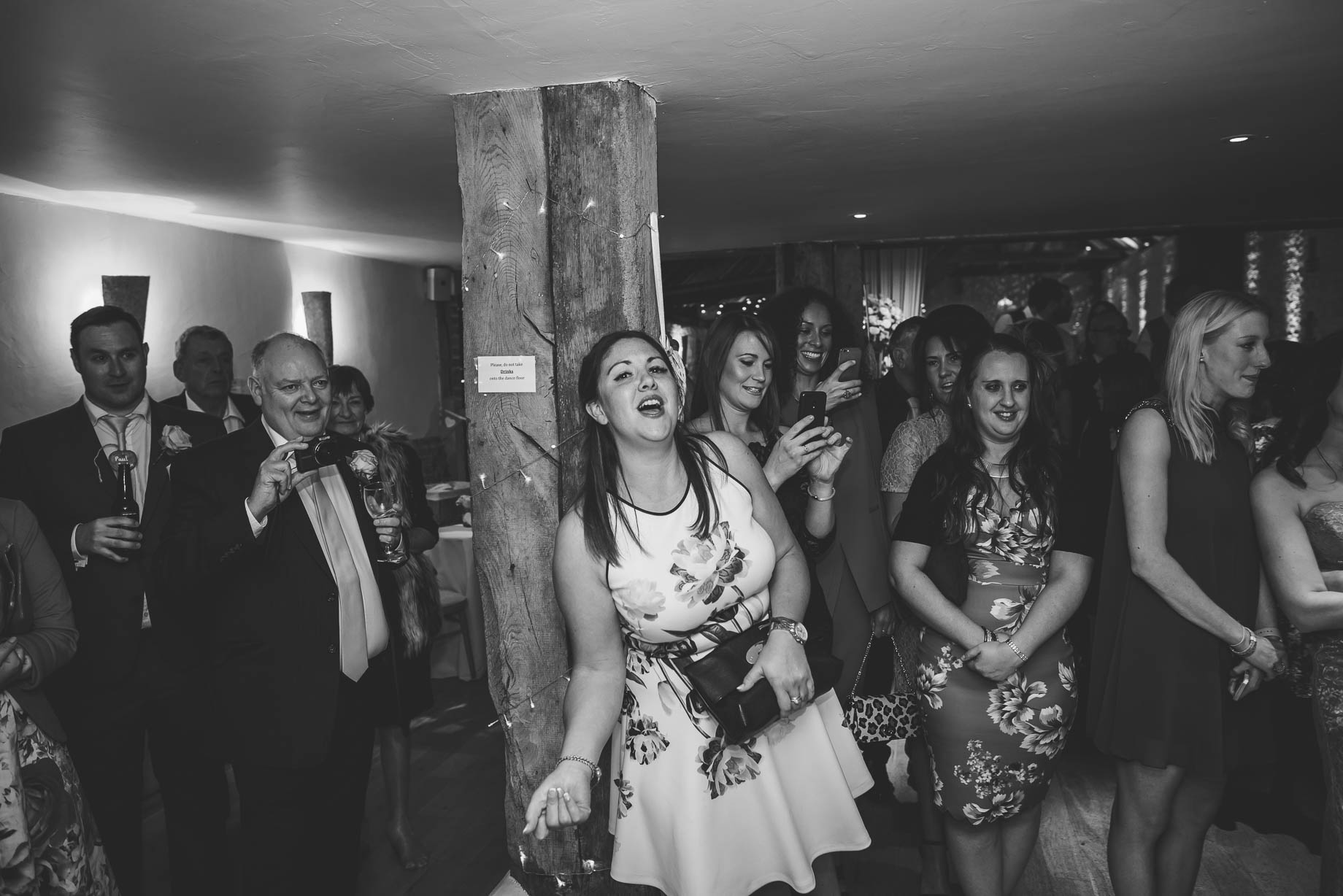 Bury Court Barn wedding photography - Guy Collier Photography - Karen and John (156 of 166)