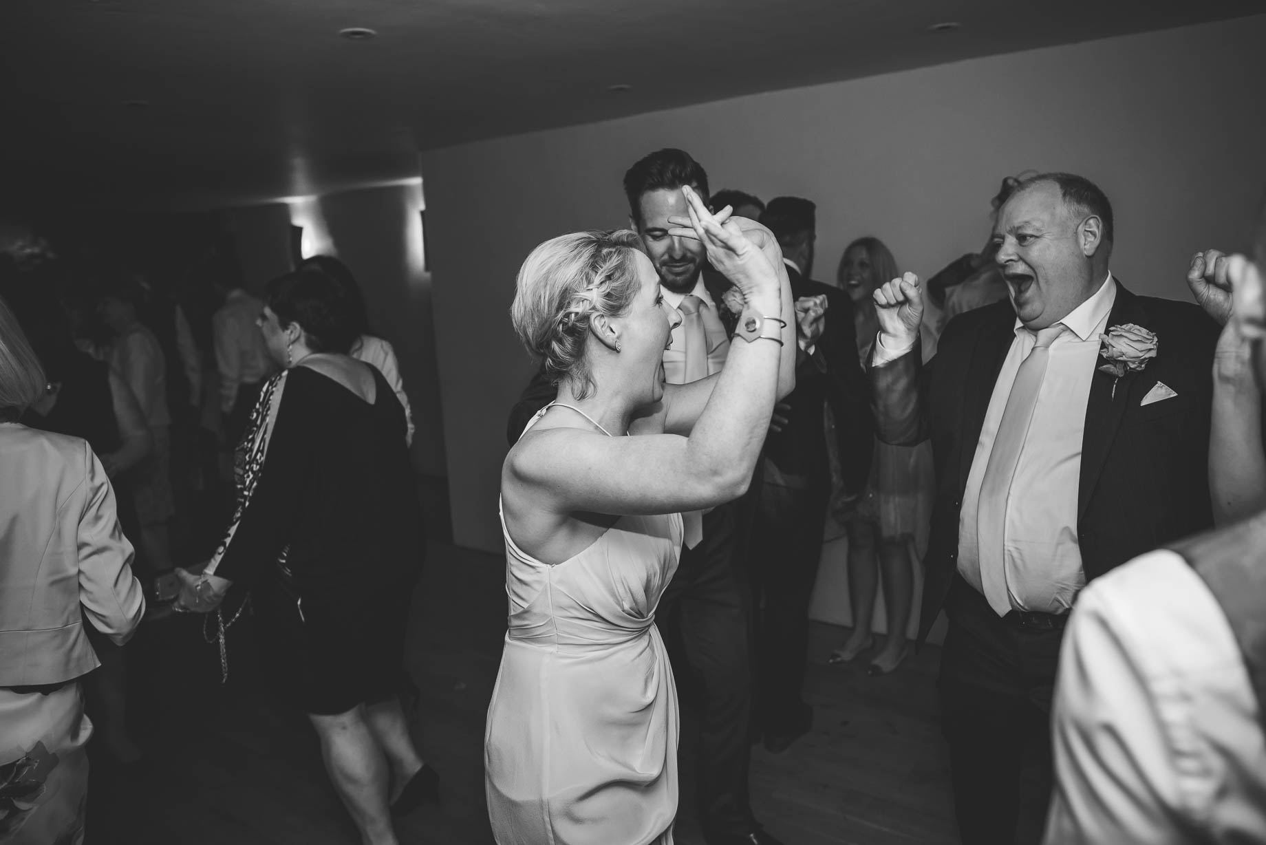 Bury Court Barn wedding photography - Guy Collier Photography - Karen and John (164 of 166)