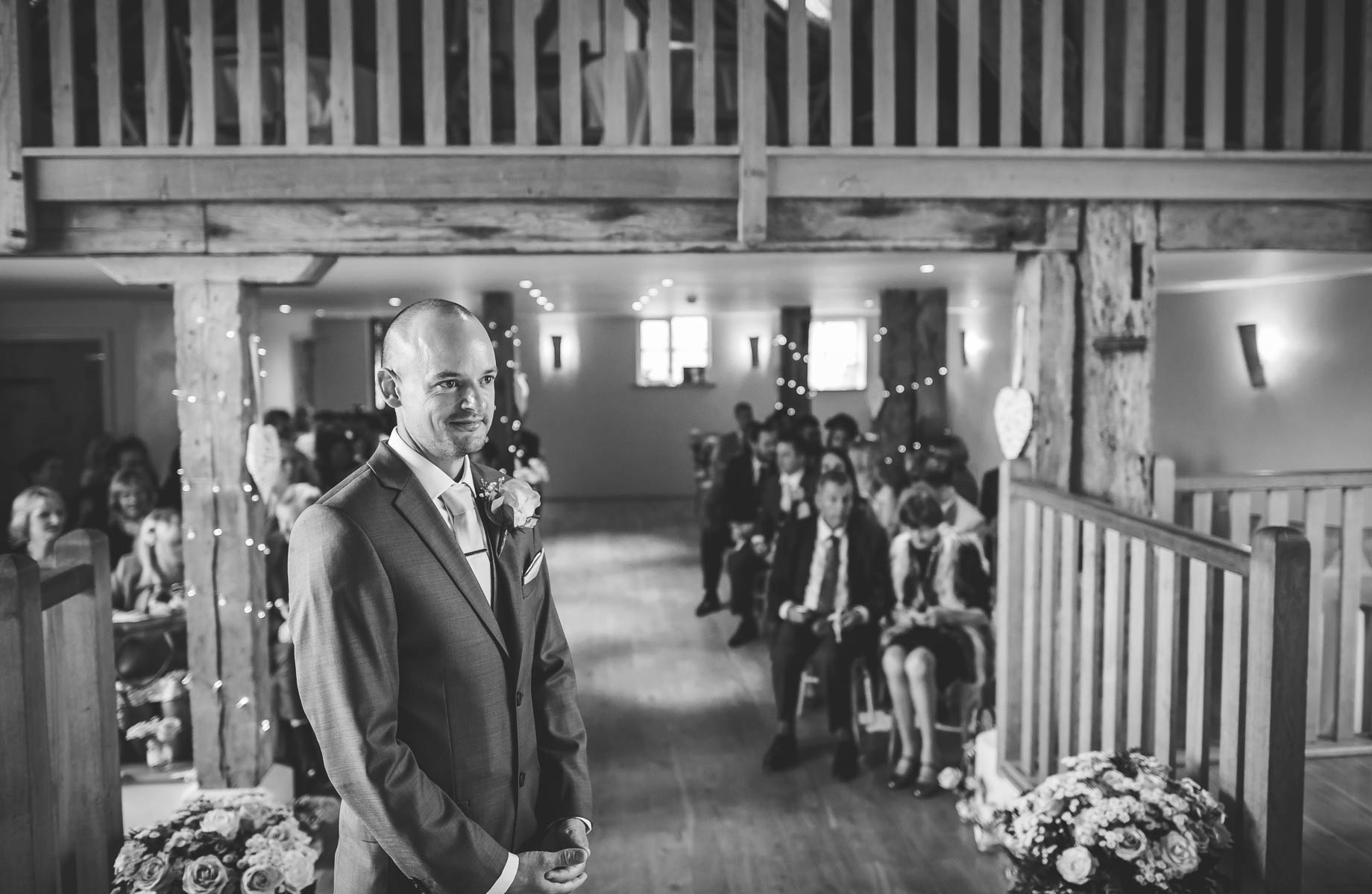 Bury Court Barn wedding photography - Guy Collier Photography - Karen and John (51 of 166)