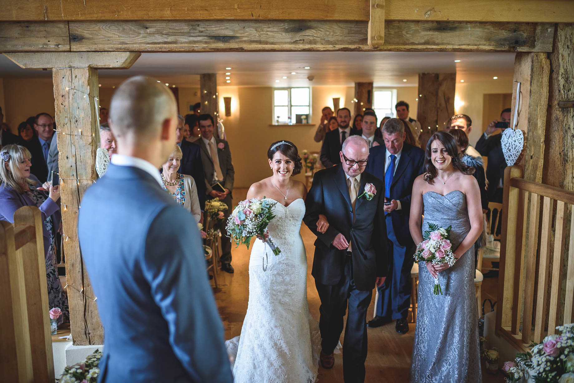 Bury Court Barn wedding photography - Guy Collier Photography - Karen and John (52 of 166)