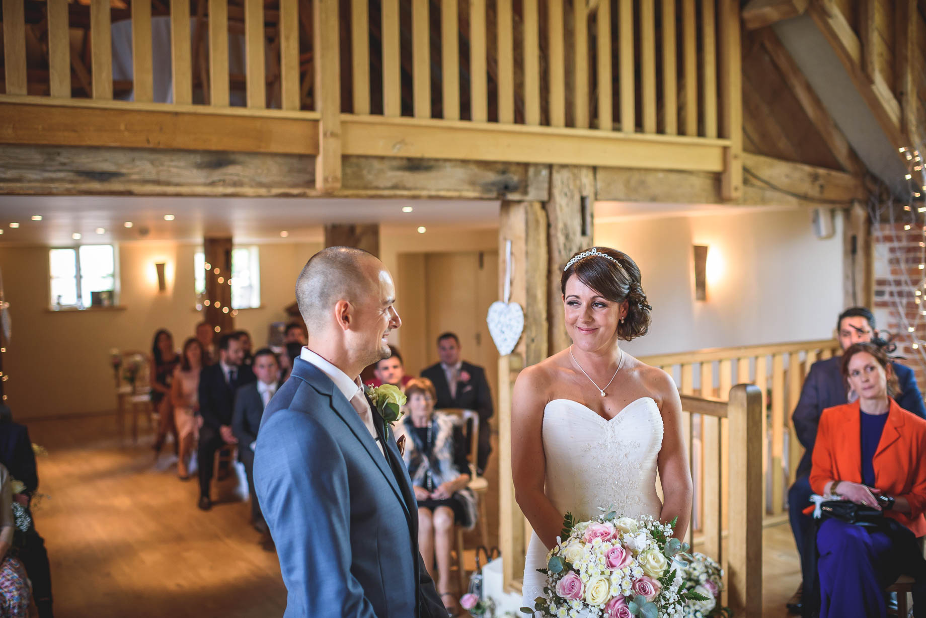 Bury Court Barn wedding photography - Guy Collier Photography - Karen and John (54 of 166)