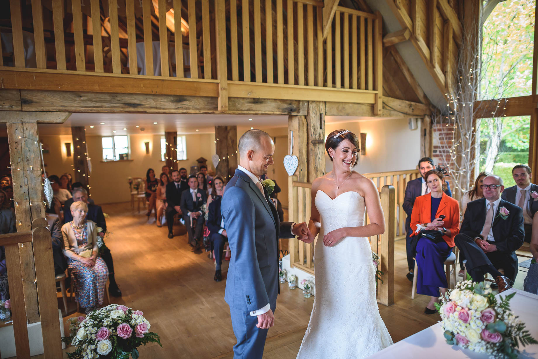 Bury Court Barn wedding photography - Guy Collier Photography - Karen and John (55 of 166)