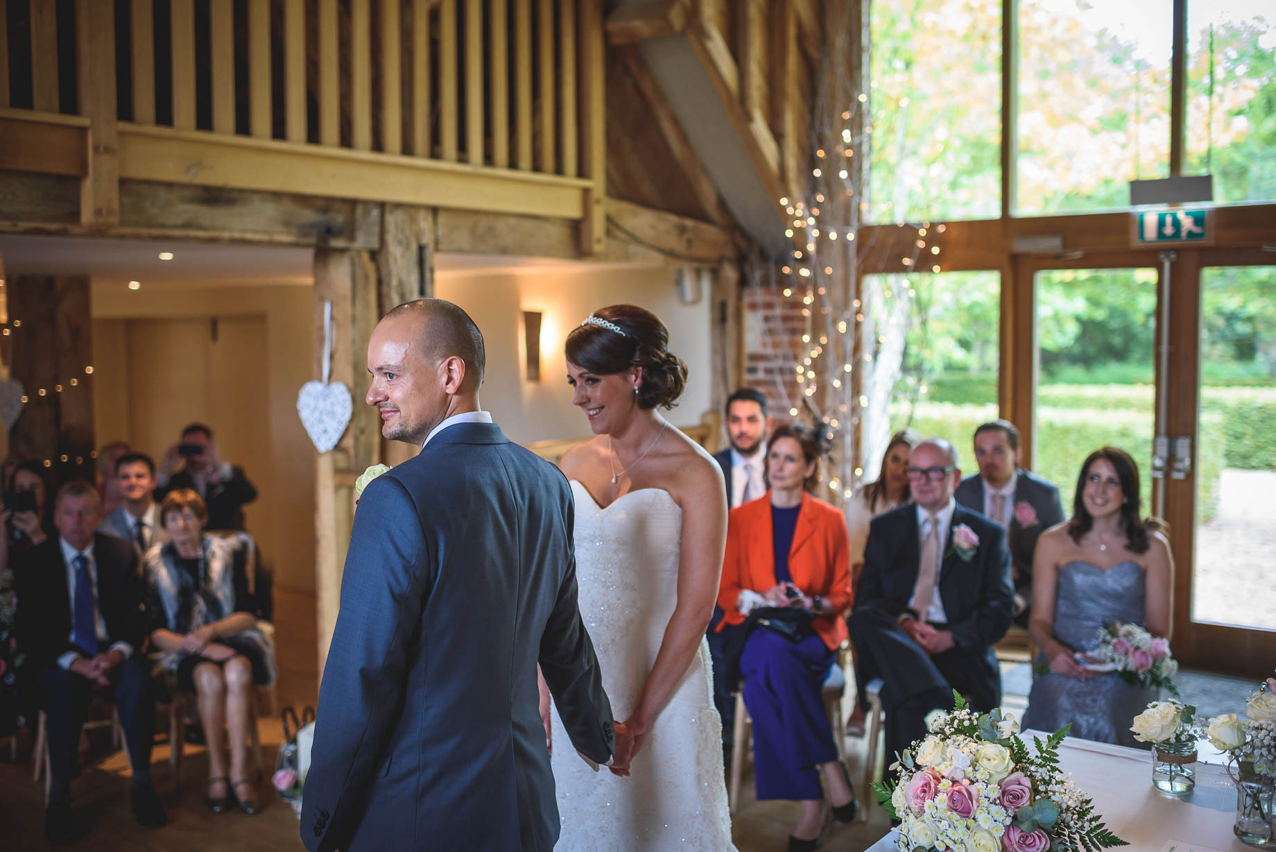 Bury Court Barn wedding photography - Guy Collier Photography - Karen and John (56 of 166)