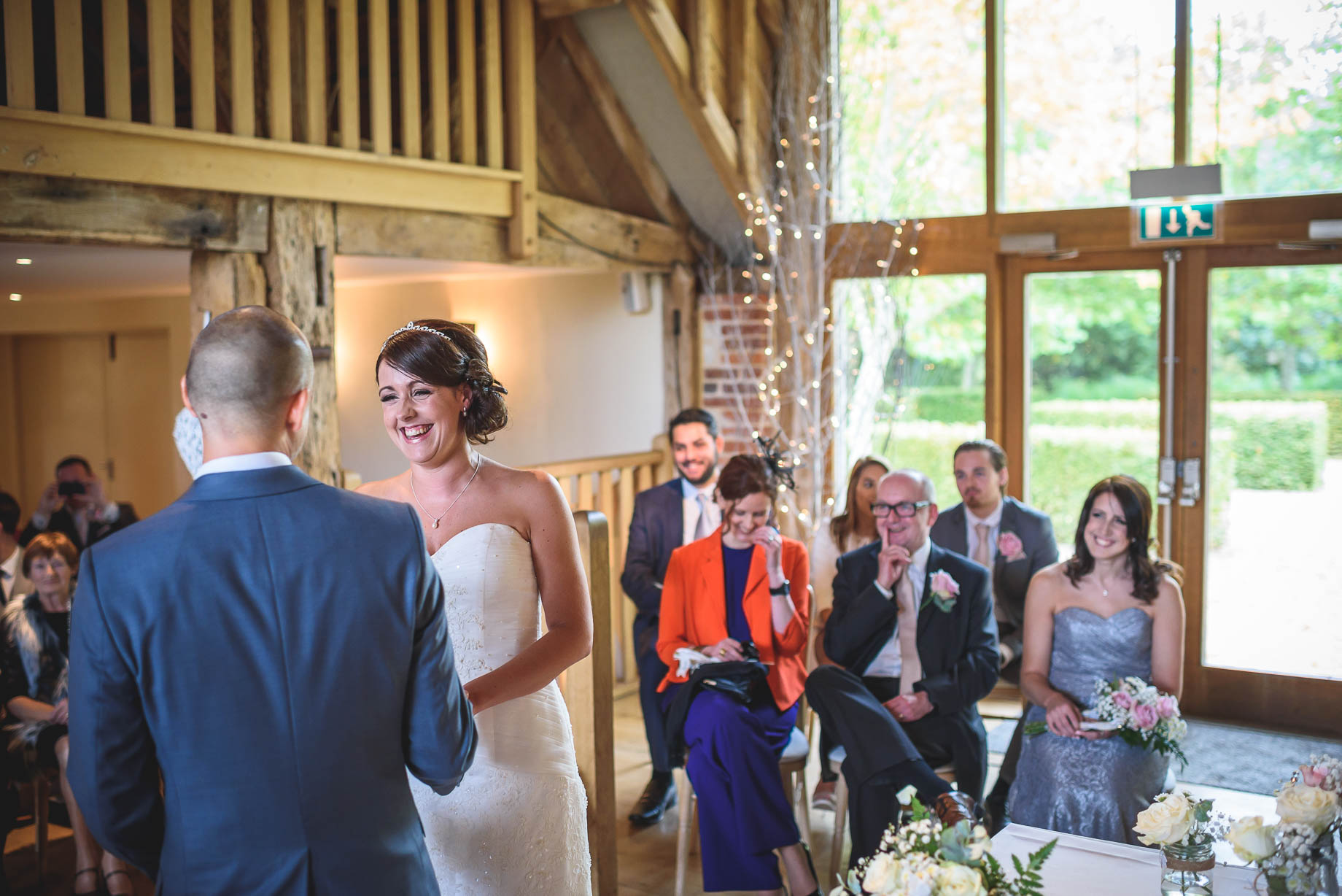 Bury Court Barn wedding photography - Guy Collier Photography - Karen and John (57 of 166)
