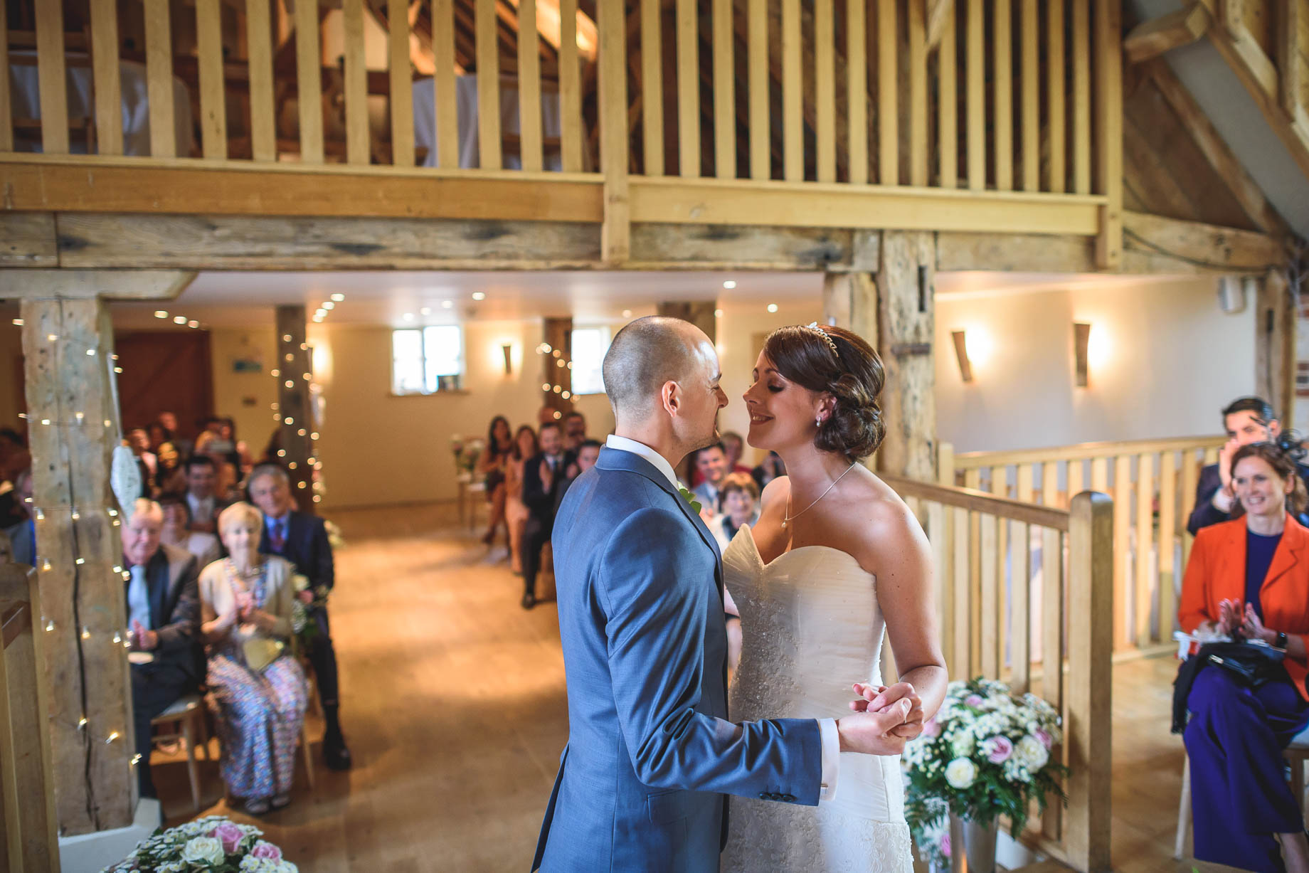 Bury Court Barn wedding photography - Guy Collier Photography - Karen and John (58 of 166)