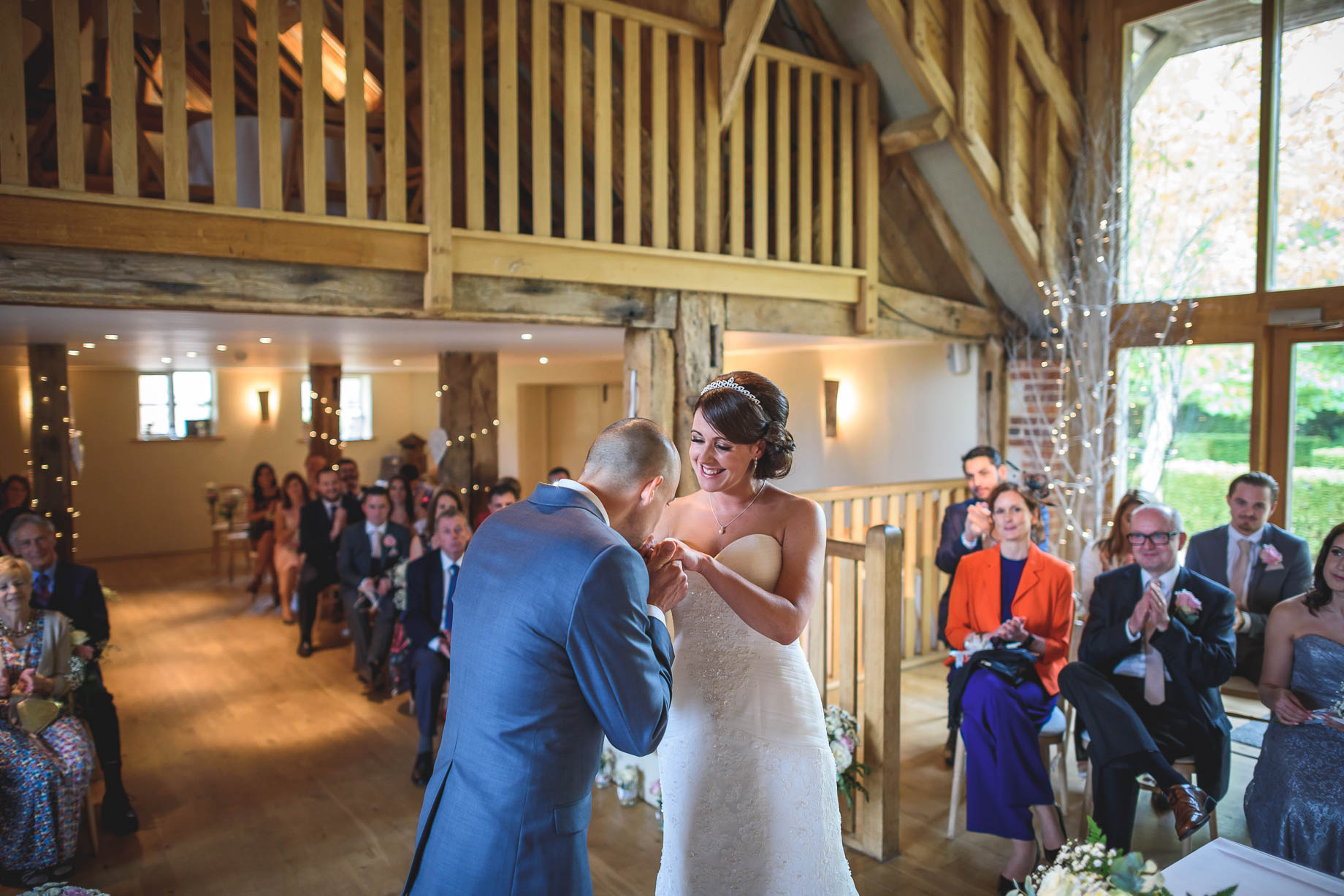 Bury Court Barn wedding photography - Guy Collier Photography - Karen and John (60 of 166)