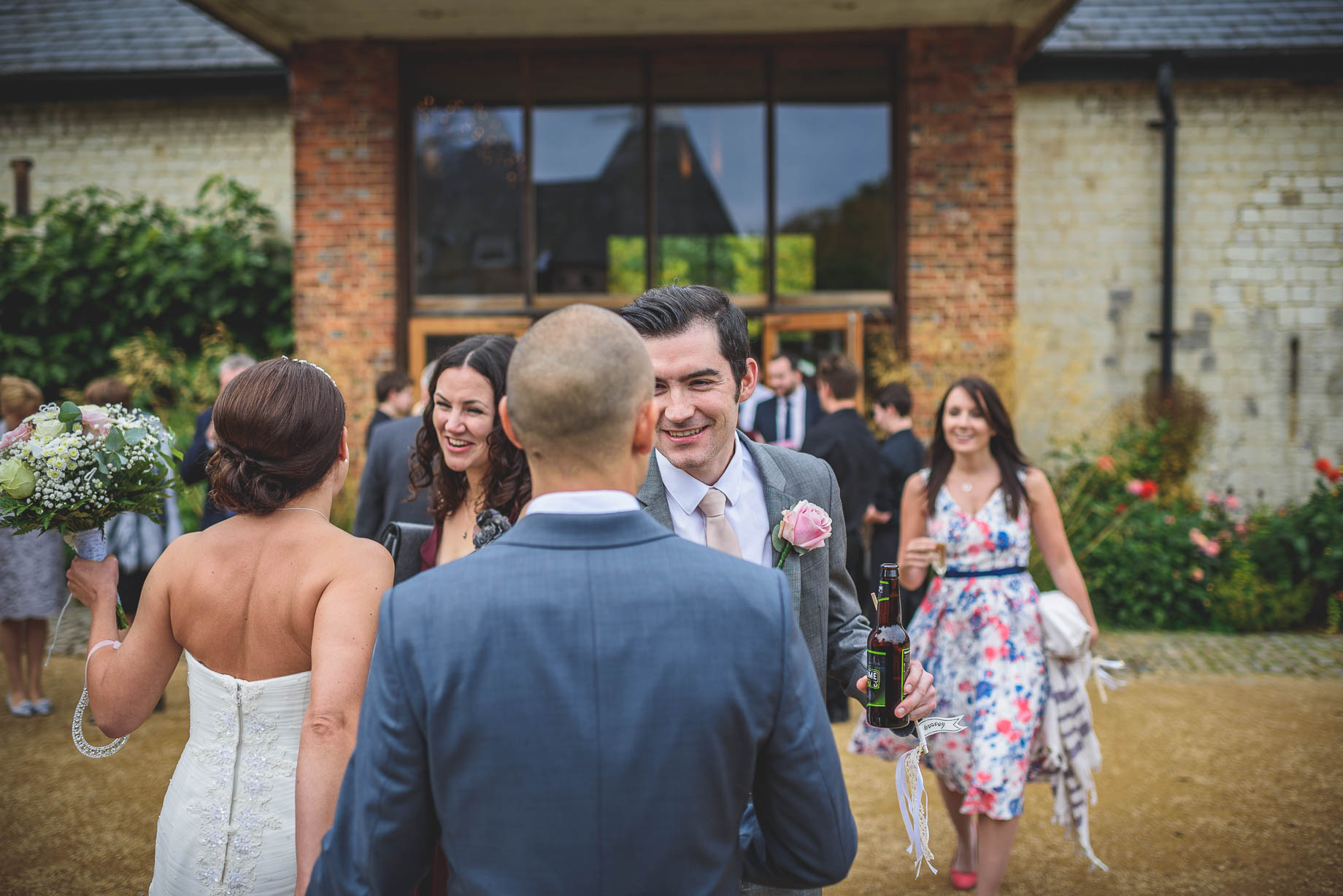 Bury Court Barn wedding photography - Guy Collier Photography - Karen and John (70 of 166)