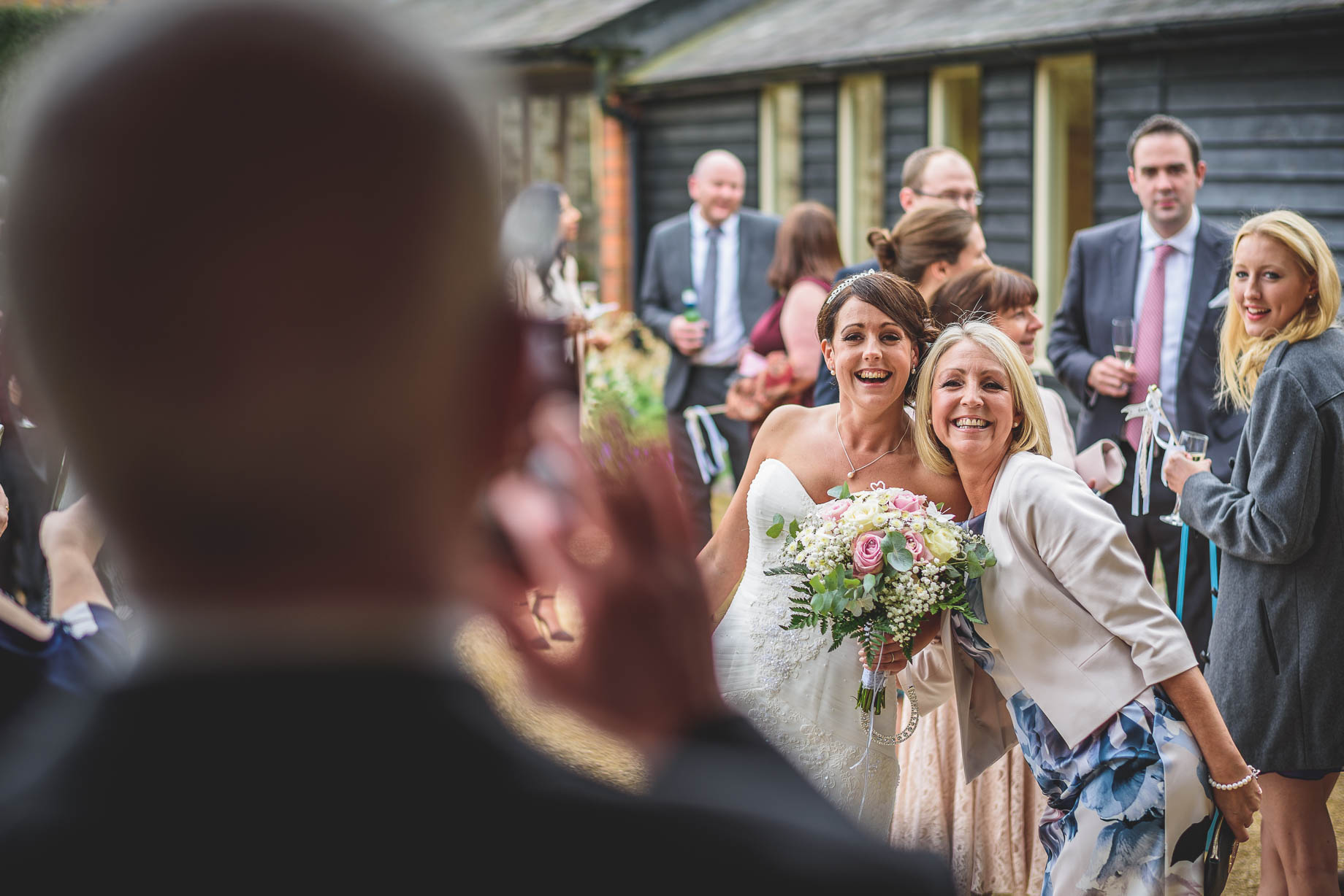 Bury Court Barn wedding photography - Guy Collier Photography - Karen and John (80 of 166)