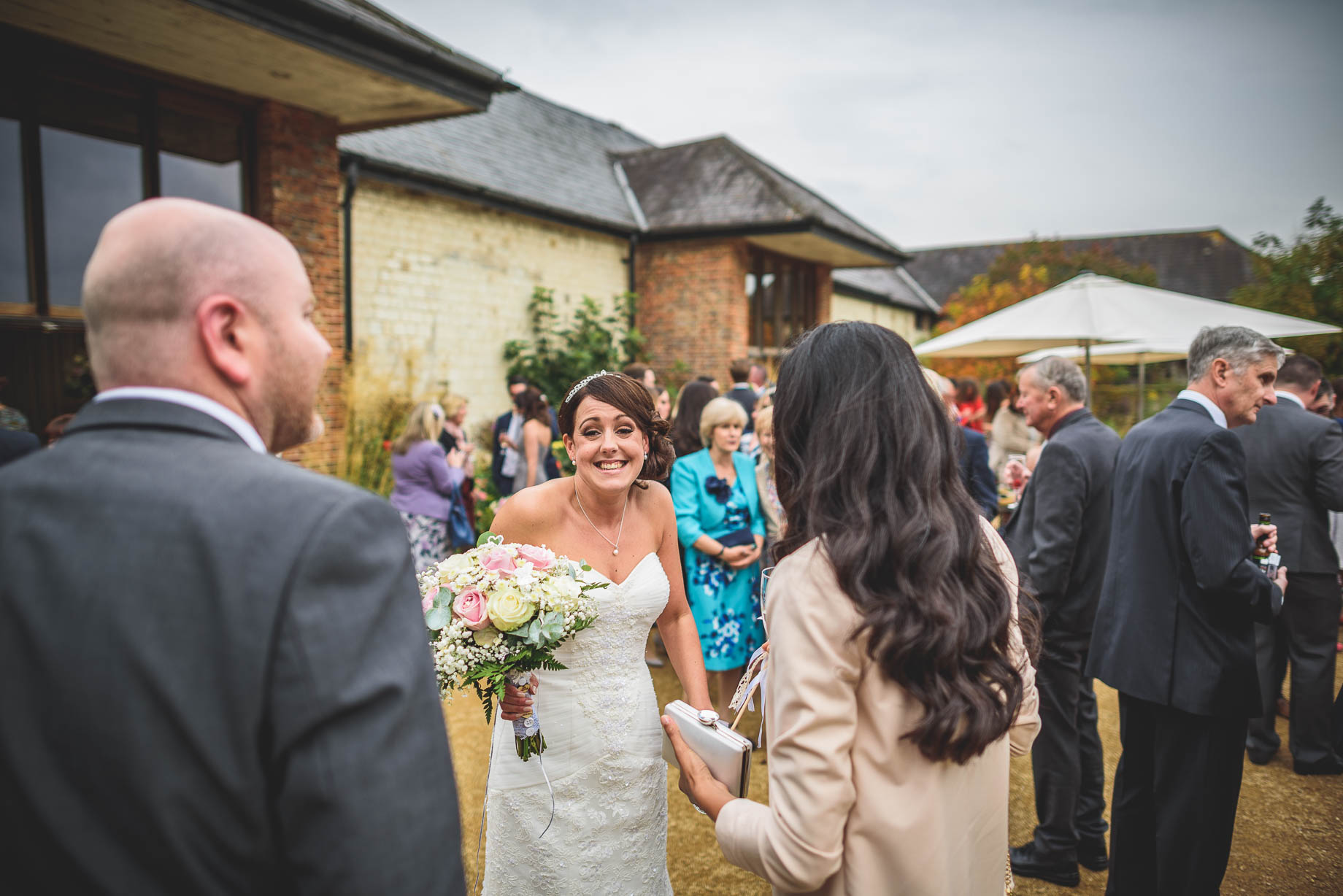 Bury Court Barn wedding photography - Guy Collier Photography - Karen and John (82 of 166)