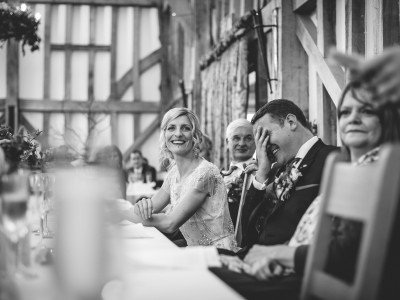 Gate Street Barn wedding photography - Cat and Josh