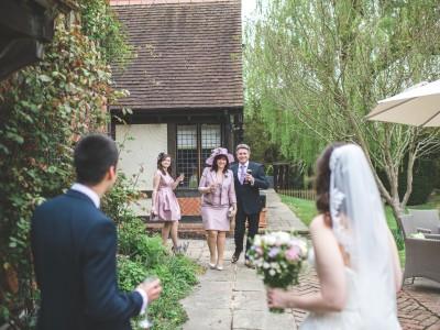 Langshott Manor wedding photography - Kristie and Stuart