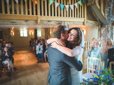 Hampshire wedding photography - Rosie and Tom