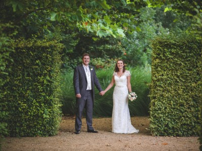 Hampshire wedding photography - Claire and Tom