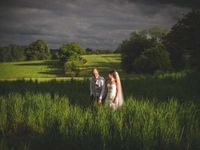 Bury Court Barn wedding photography - Jen and Andy