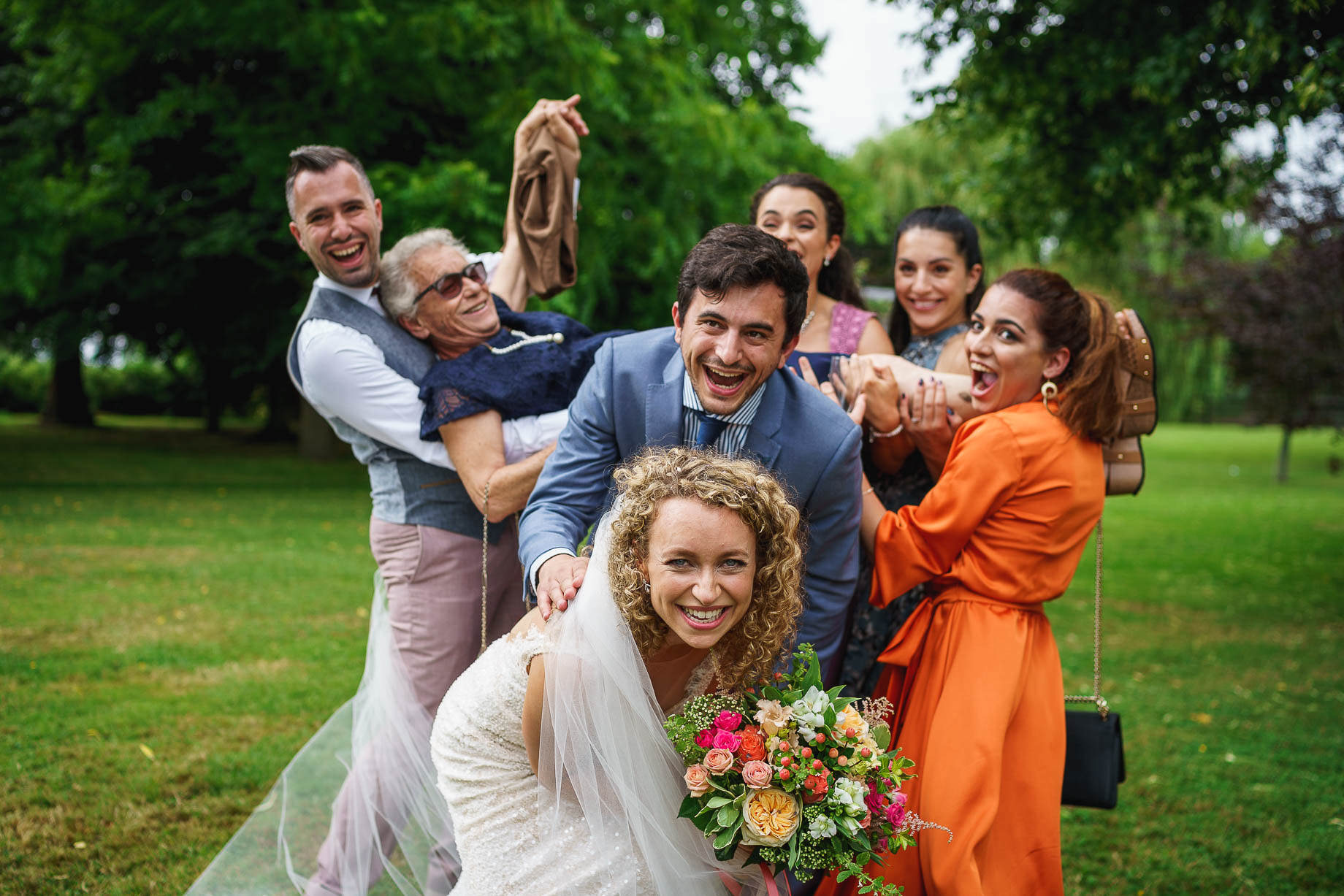 Hampshire wedding photography by Guy Collier Photography