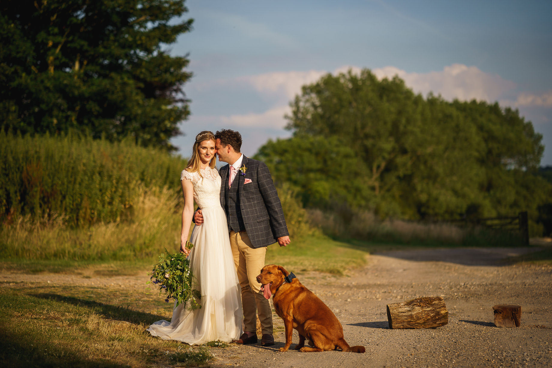 Bonhams Barn wedding photography