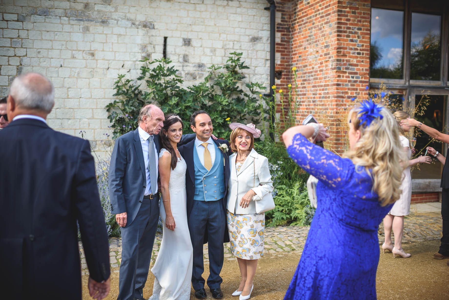 Bury Court Barn Wedding Photography - Caroline and Rob (119 of 219)