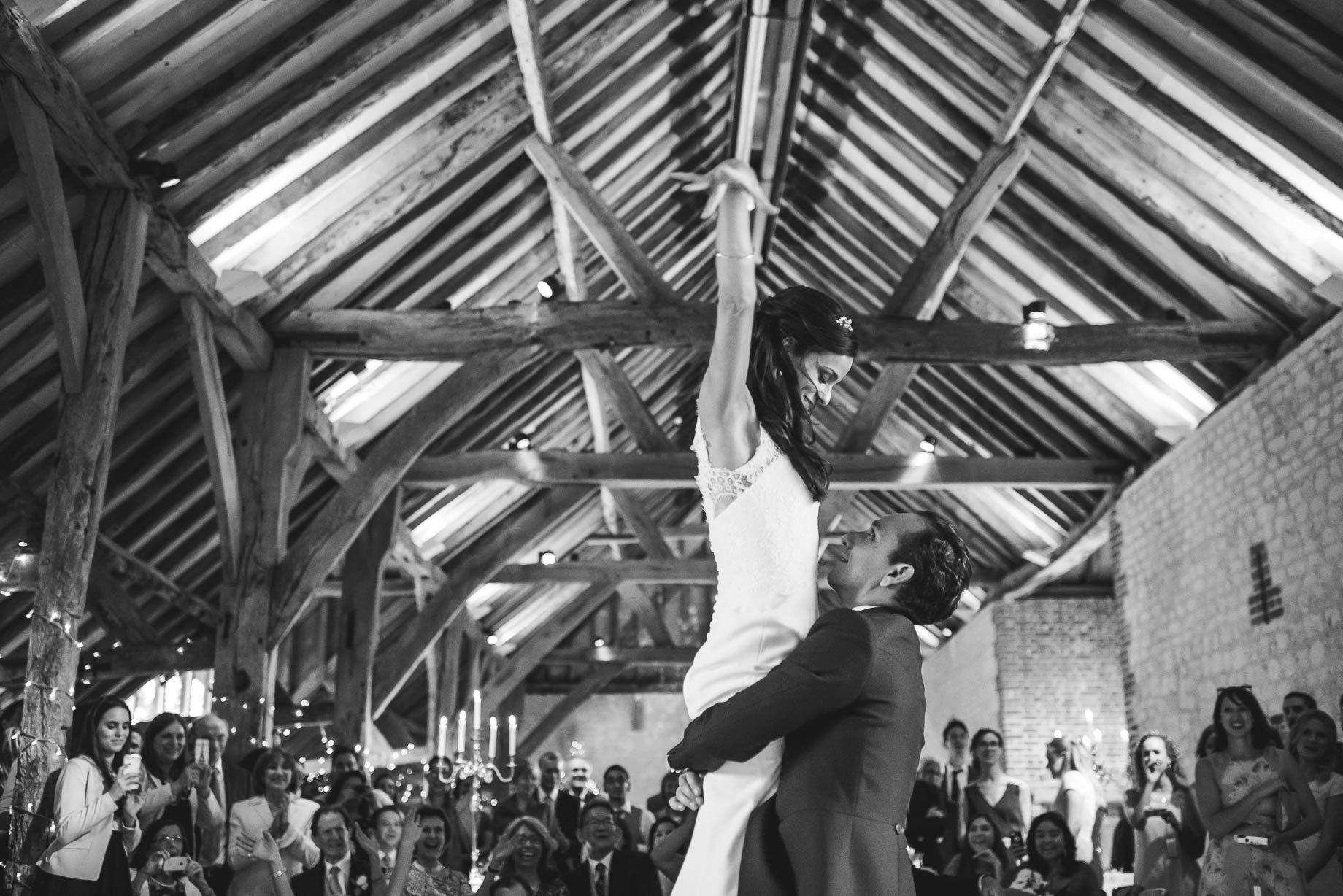 Bury Court Barn Wedding Photography - Caroline and Rob (203 of 219)