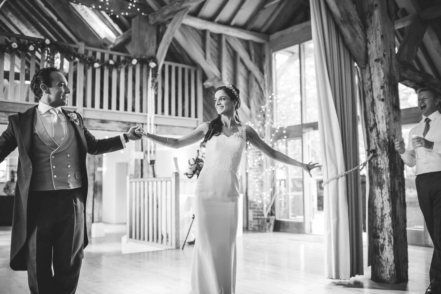 Bury Court Barn Wedding Photography - Caroline and Rob (207 of 219)