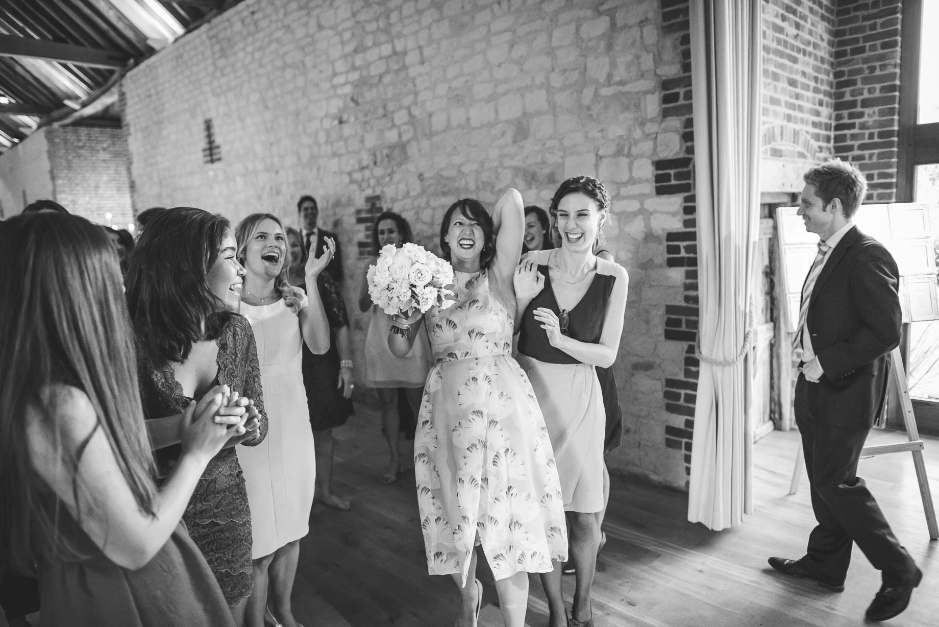 Bury Court Barn Wedding Photography - Caroline and Rob (211 of 219)