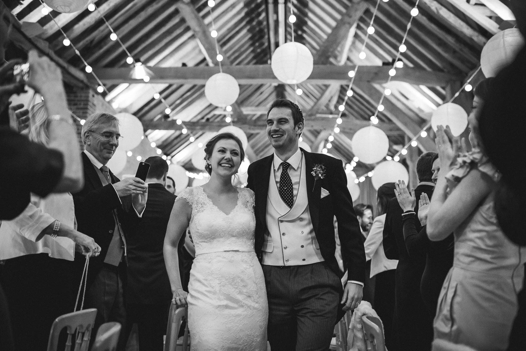 Bury Court Barn wedding photography - Ashley and Henry by Guy Collier Photography (126 of 188)