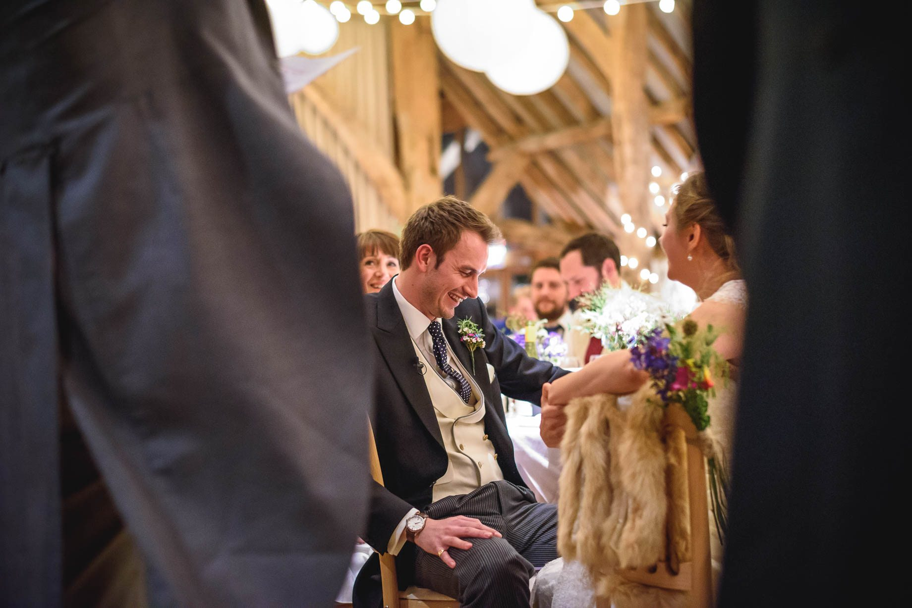 Bury Court Barn wedding photography - Ashley and Henry by Guy Collier Photography (156 of 188)