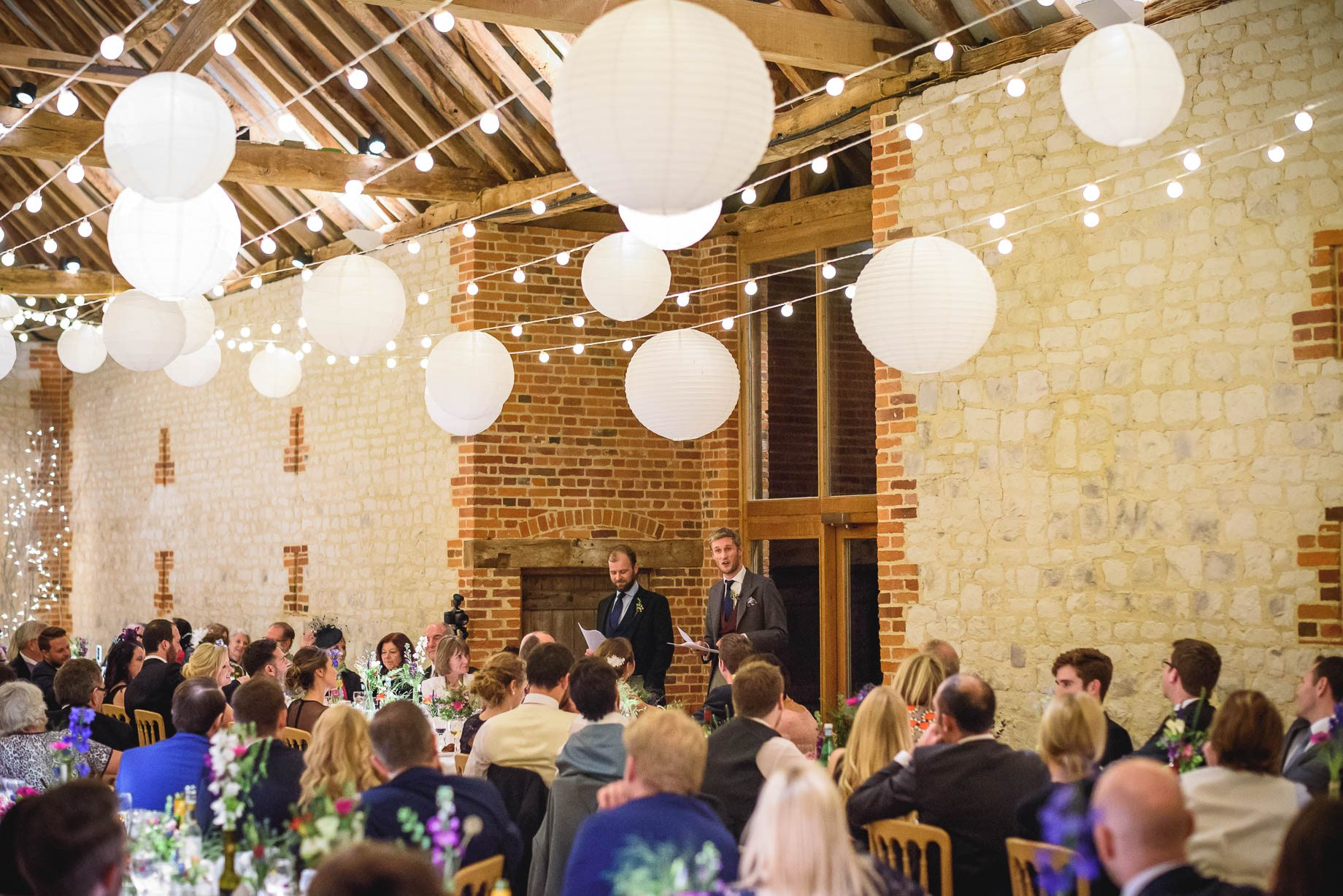 Bury Court Barn wedding photography - Ashley and Henry by Guy Collier Photography (160 of 188)