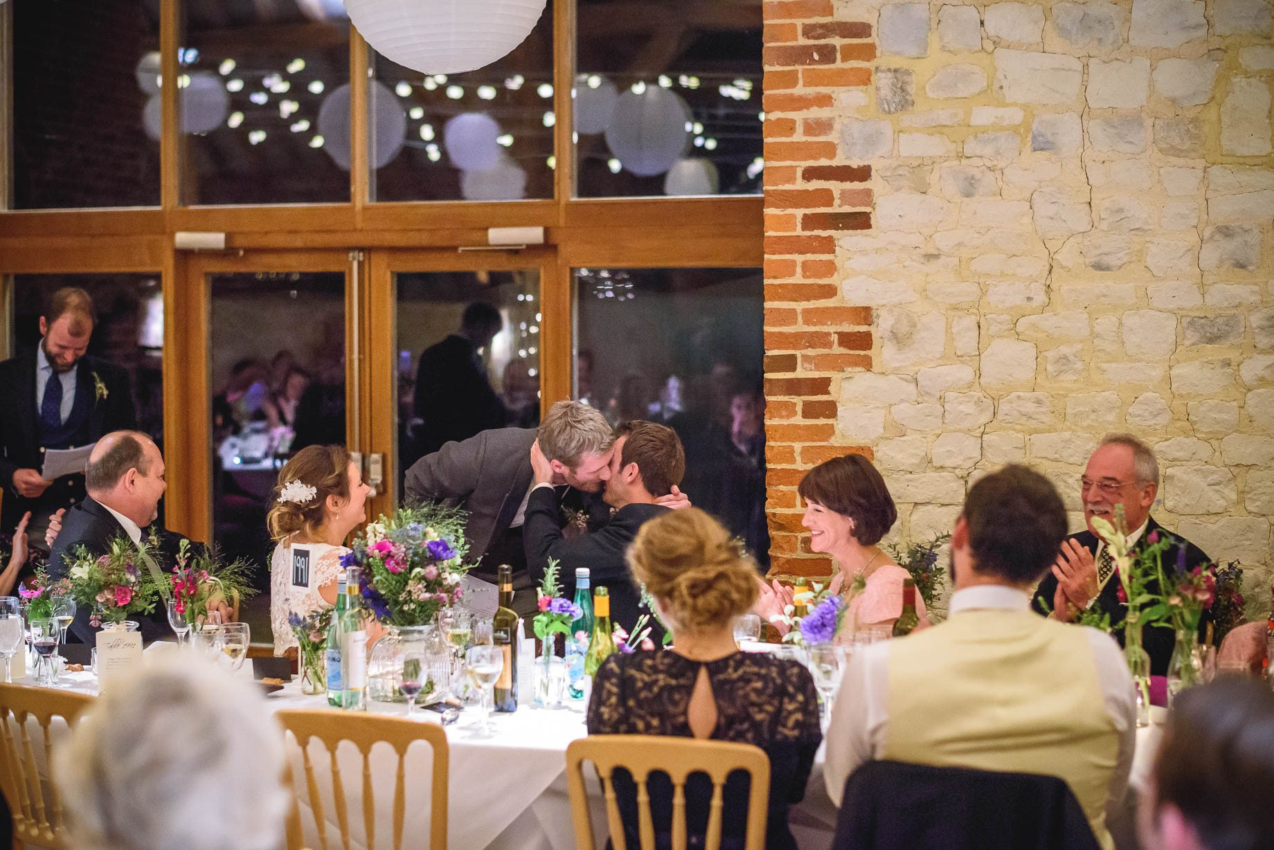 Bury Court Barn wedding photography - Ashley and Henry by Guy Collier Photography (163 of 188)
