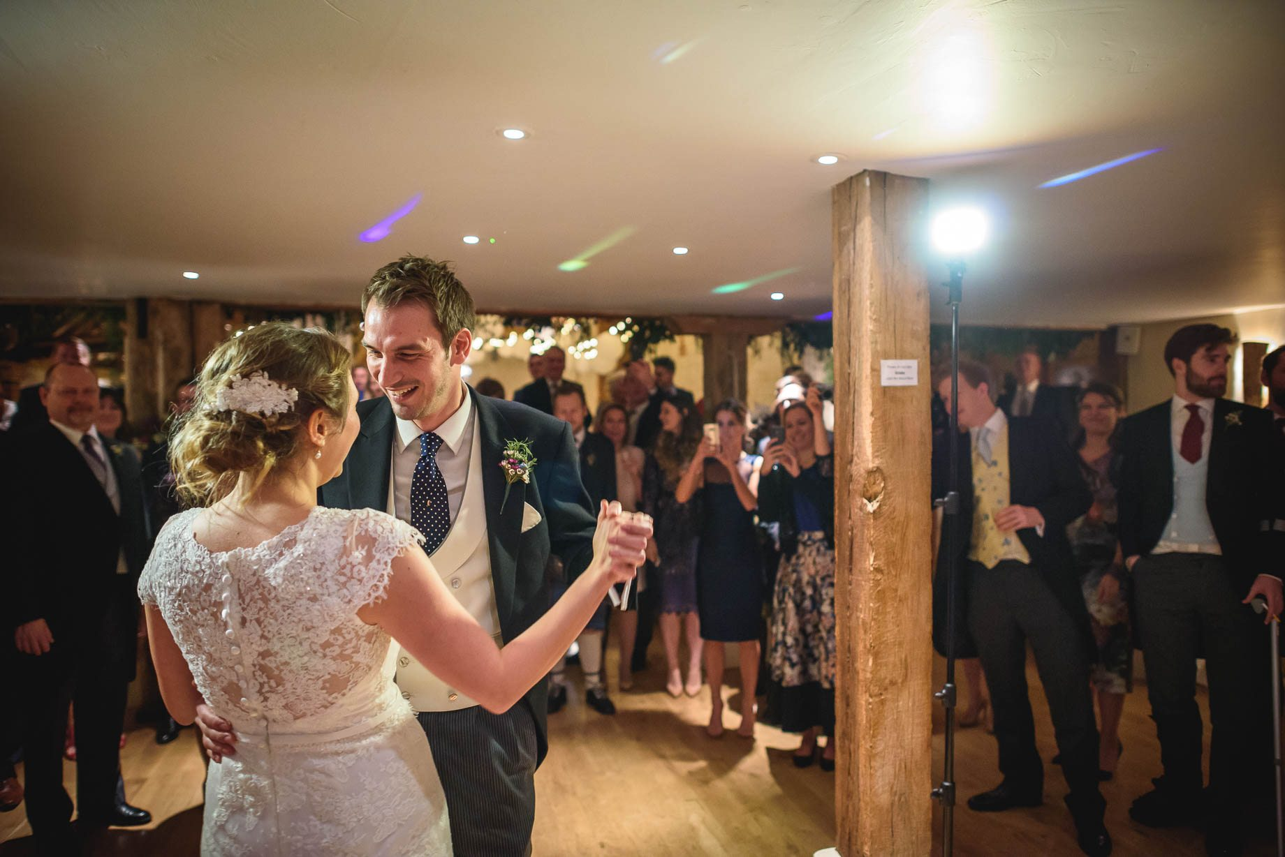 Bury Court Barn wedding photography - Ashley and Henry by Guy Collier Photography (165 of 188)