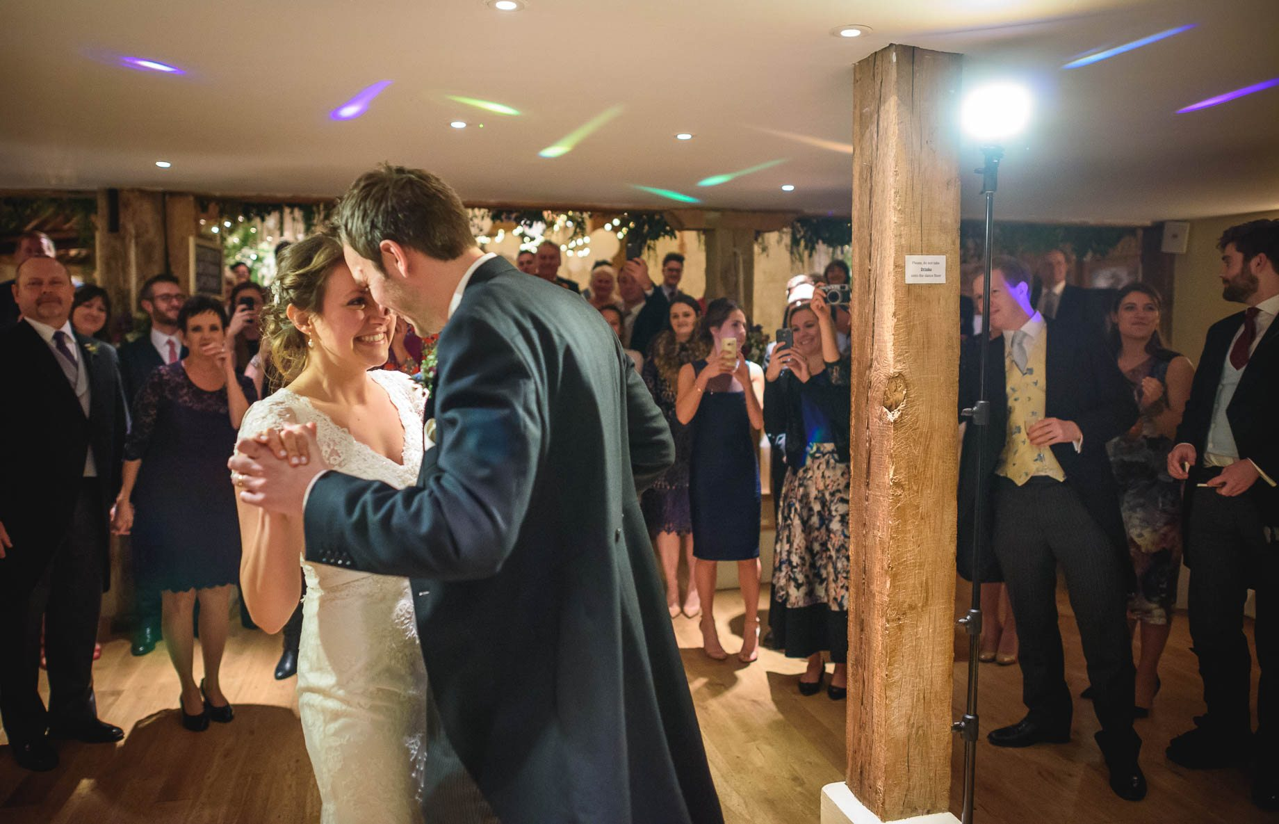 Bury Court Barn wedding photography - Ashley and Henry by Guy Collier Photography (166 of 188)