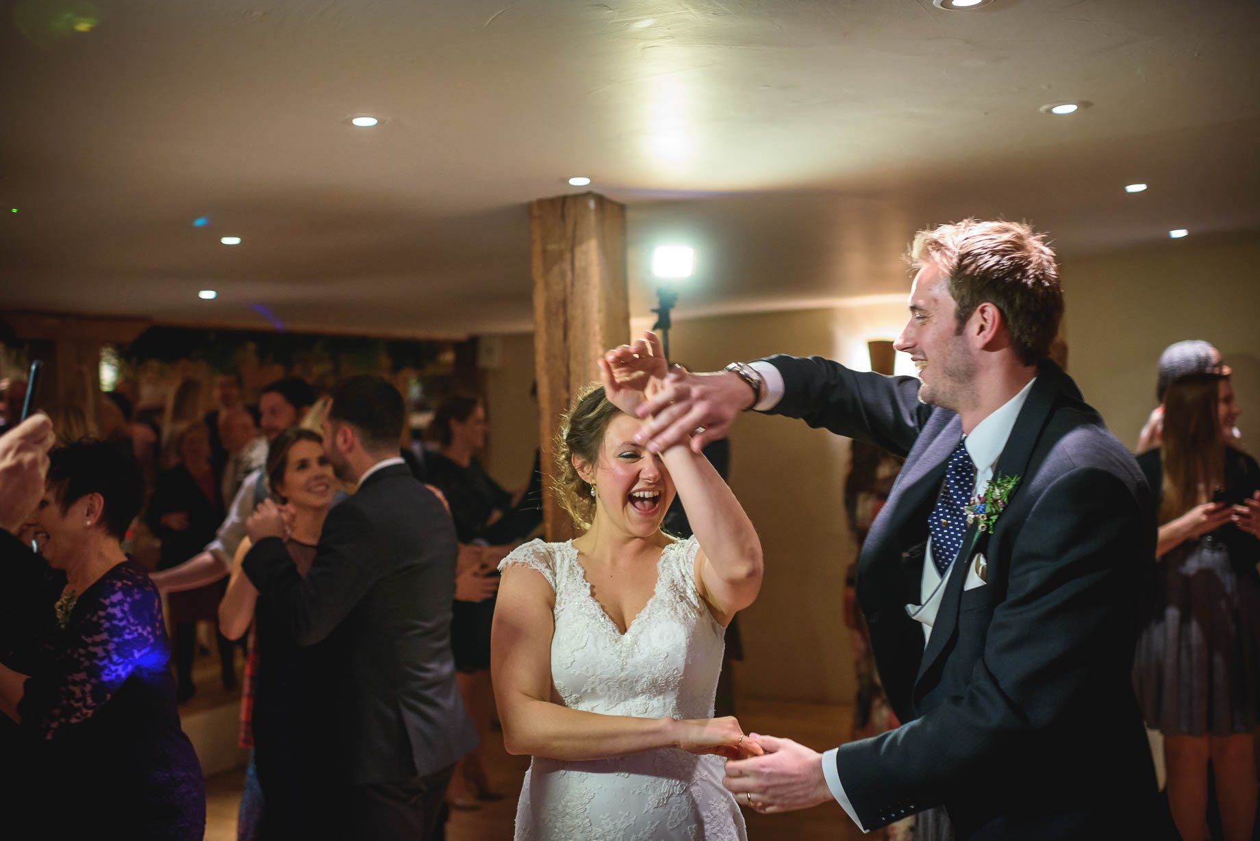 Bury Court Barn wedding photography - Ashley and Henry by Guy Collier Photography (169 of 188)