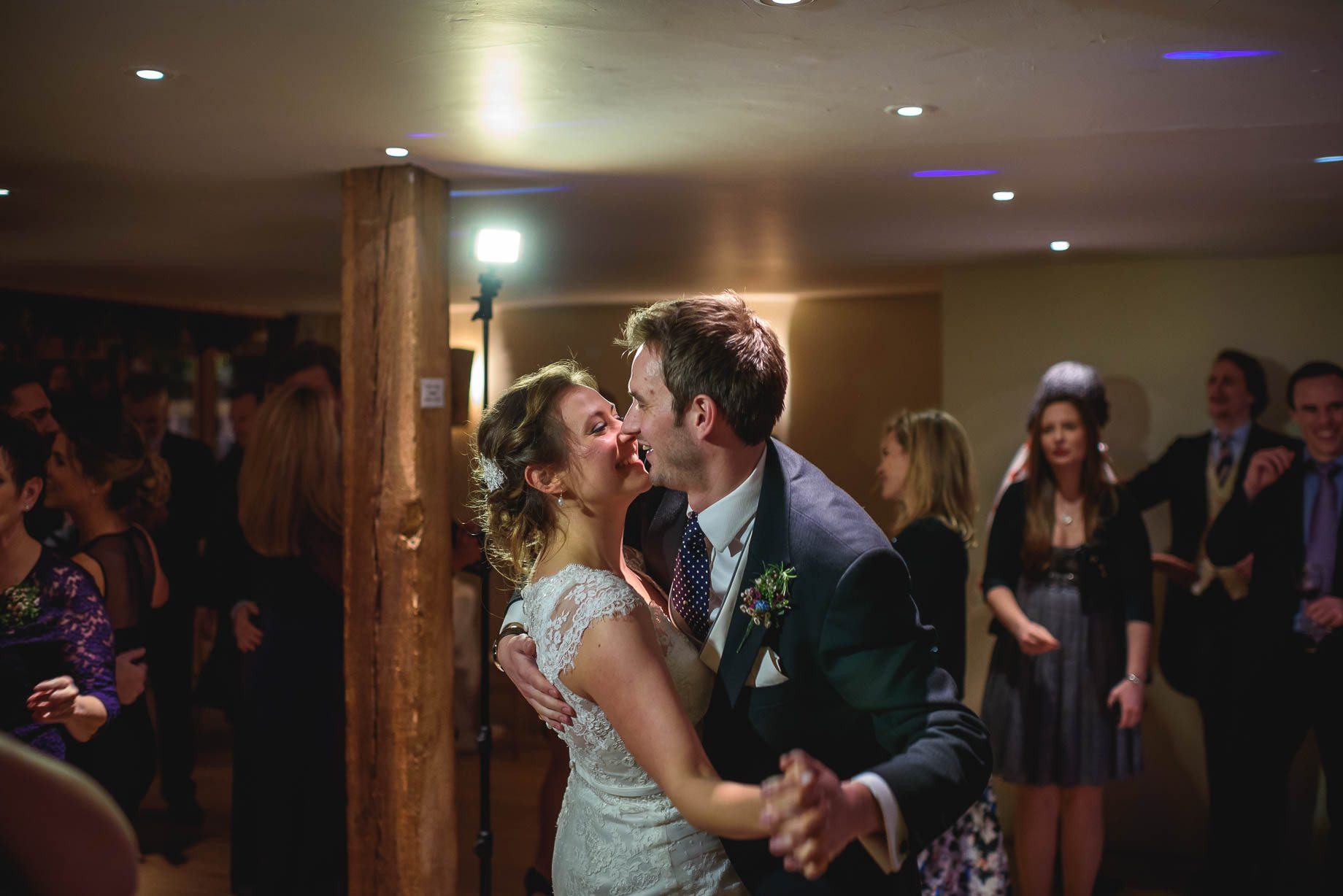 Bury Court Barn wedding photography - Ashley and Henry by Guy Collier Photography (170 of 188)