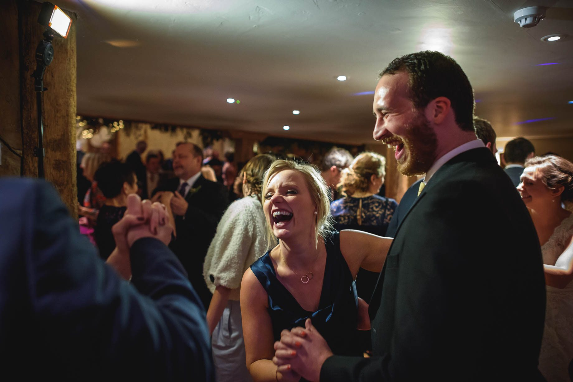 Bury Court Barn wedding photography - Ashley and Henry by Guy Collier Photography (173 of 188)