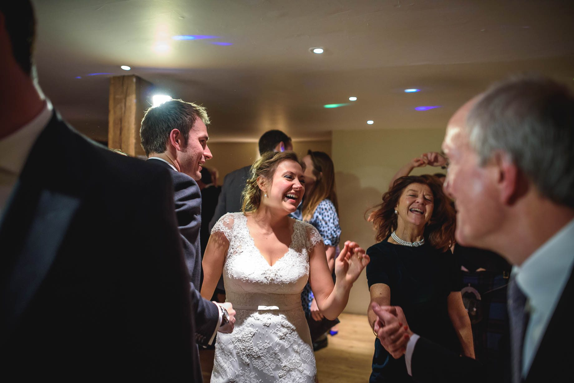 Bury Court Barn wedding photography - Ashley and Henry by Guy Collier Photography (175 of 188)