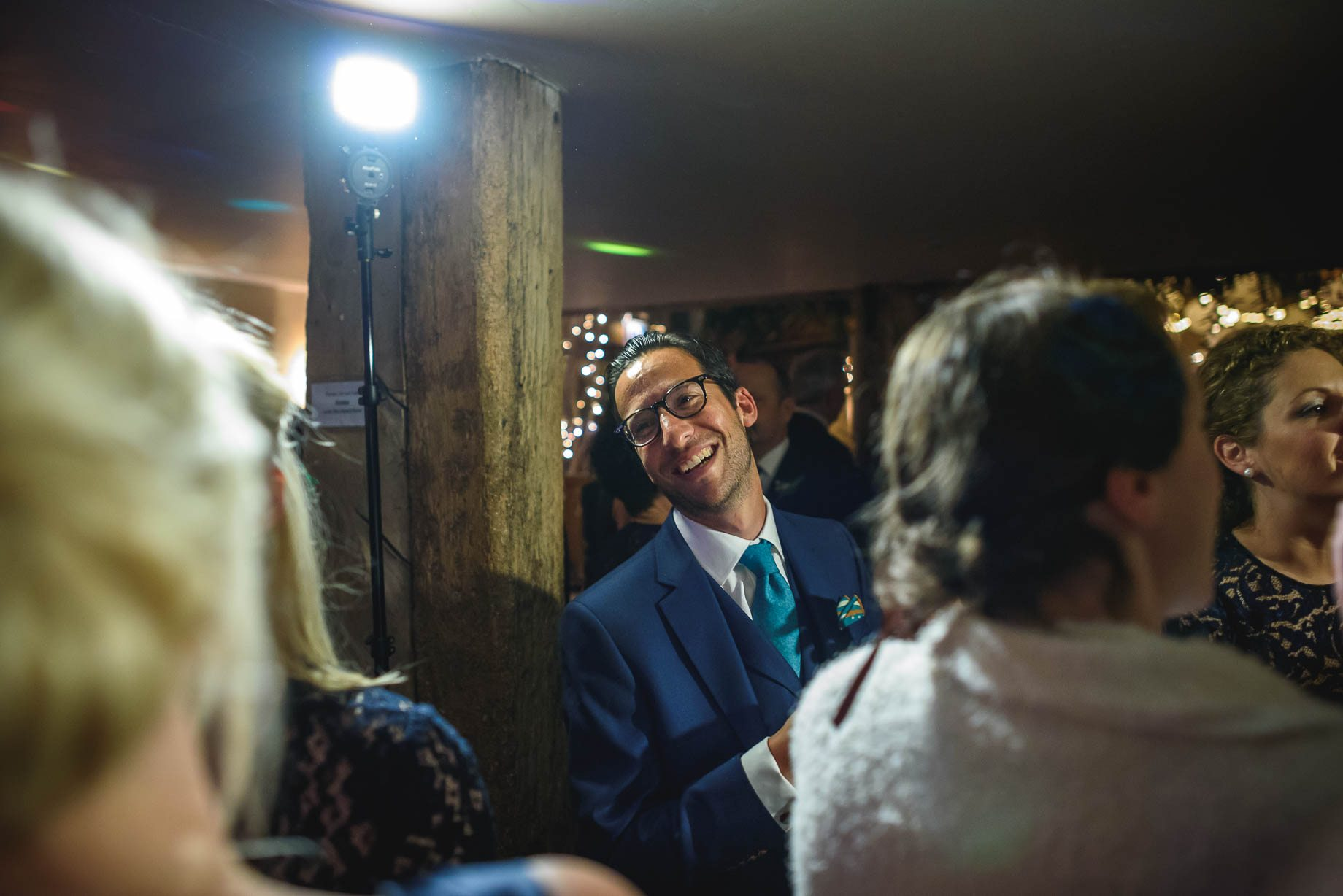Bury Court Barn wedding photography - Ashley and Henry by Guy Collier Photography (183 of 188)
