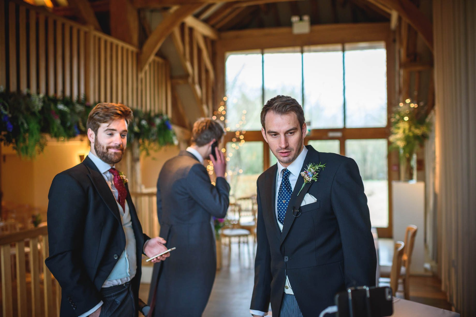 Bury Court Barn wedding photography - Ashley and Henry by Guy Collier Photography (24 of 188)