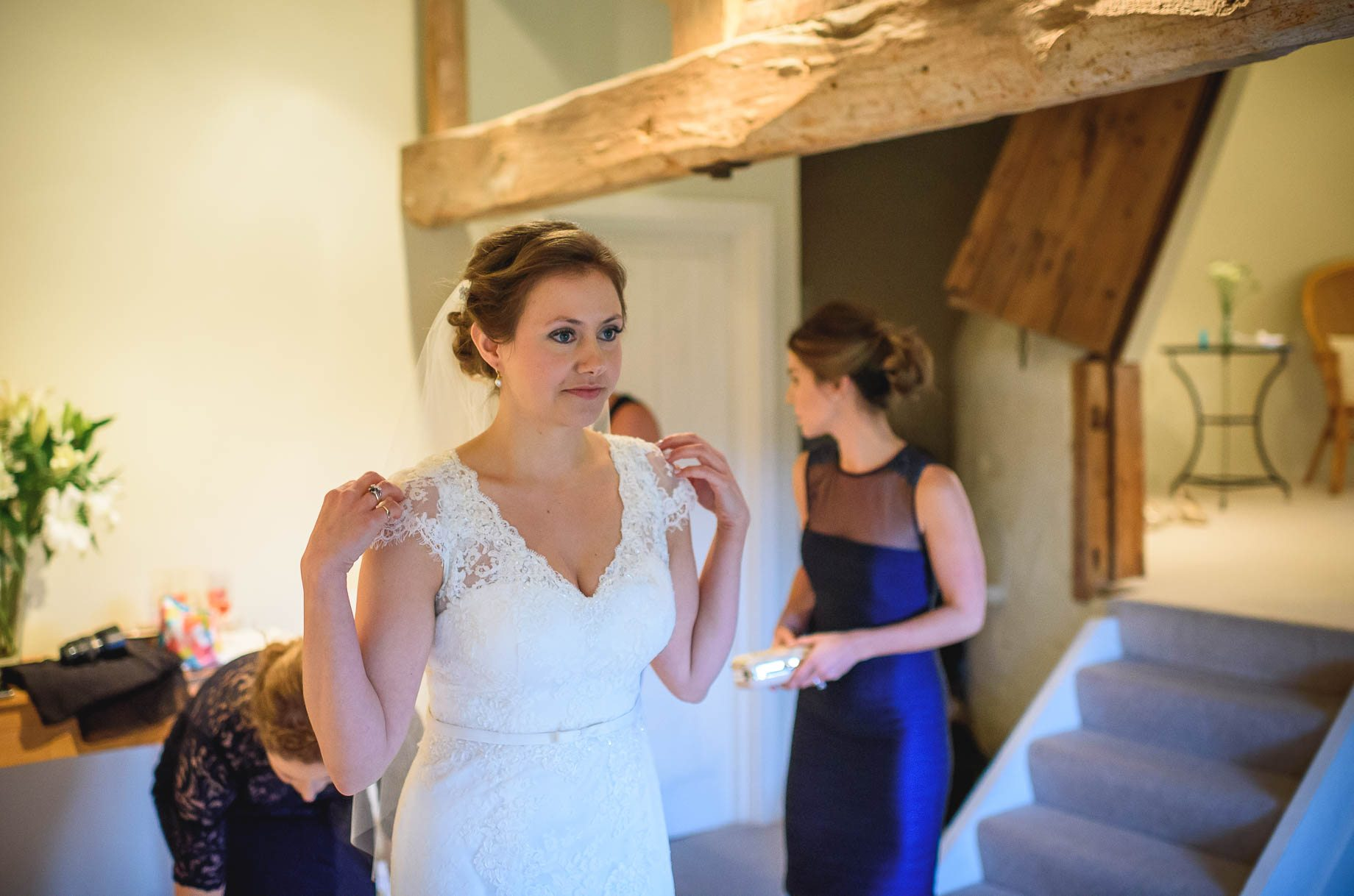 Bury Court Barn wedding photography - Ashley and Henry by Guy Collier Photography (31 of 188)
