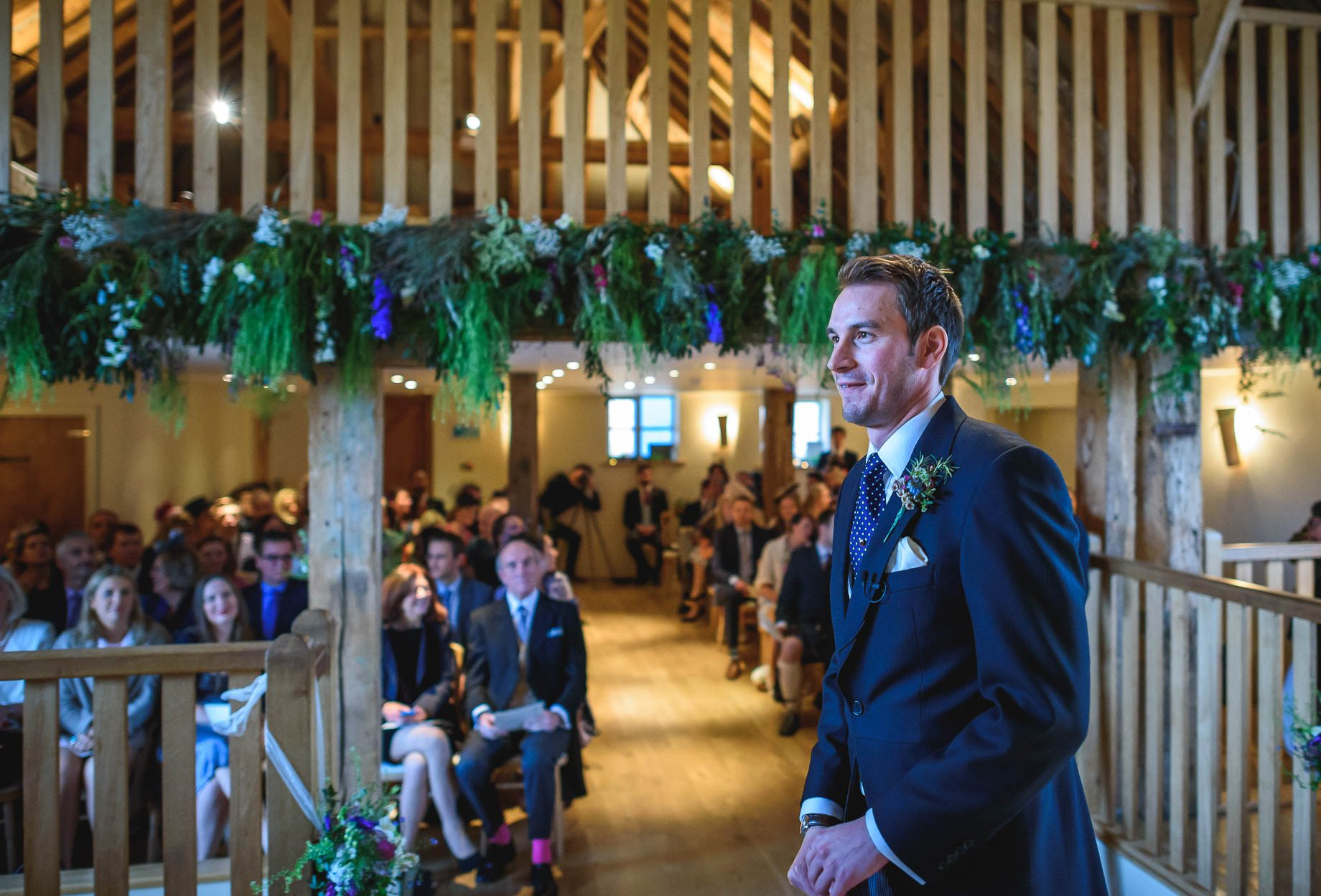 Bury Court Barn wedding photography - Ashley and Henry by Guy Collier Photography (38 of 188)