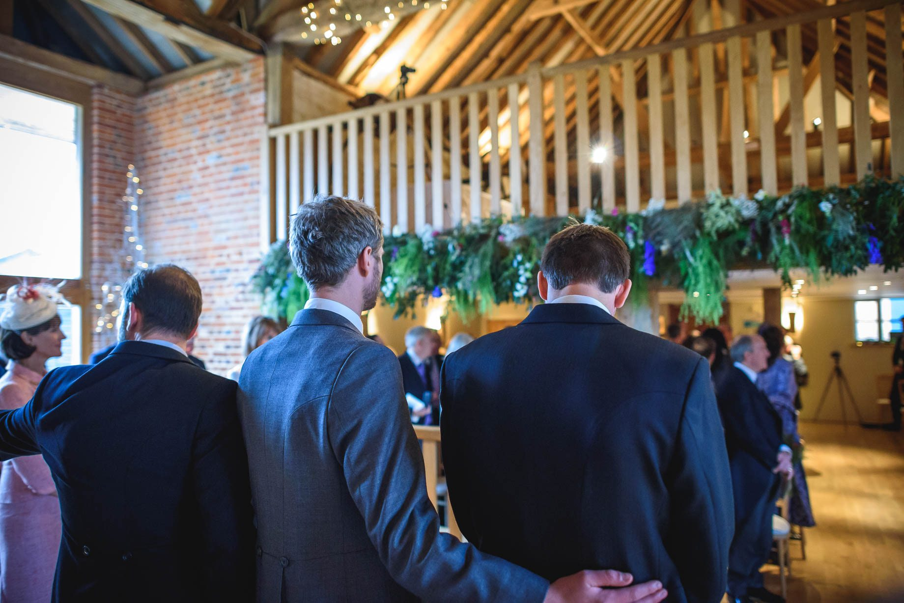 Bury Court Barn wedding photography - Ashley and Henry by Guy Collier Photography (39 of 188)