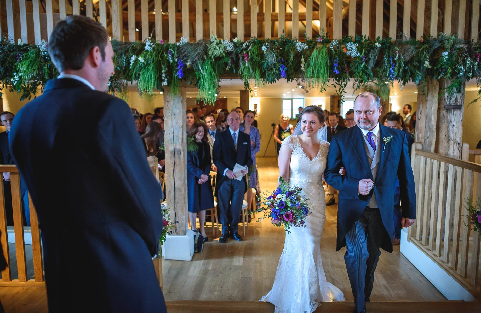 Bury Court Barn wedding photography - Ashley and Henry by Guy Collier Photography (40 of 188)
