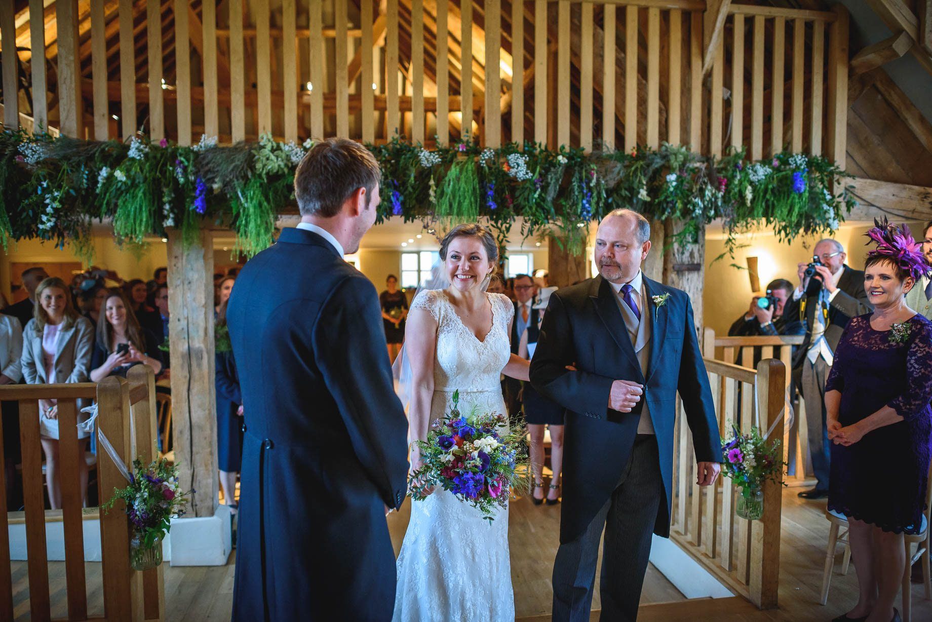Bury Court Barn wedding photography - Ashley and Henry by Guy Collier Photography (41 of 188)