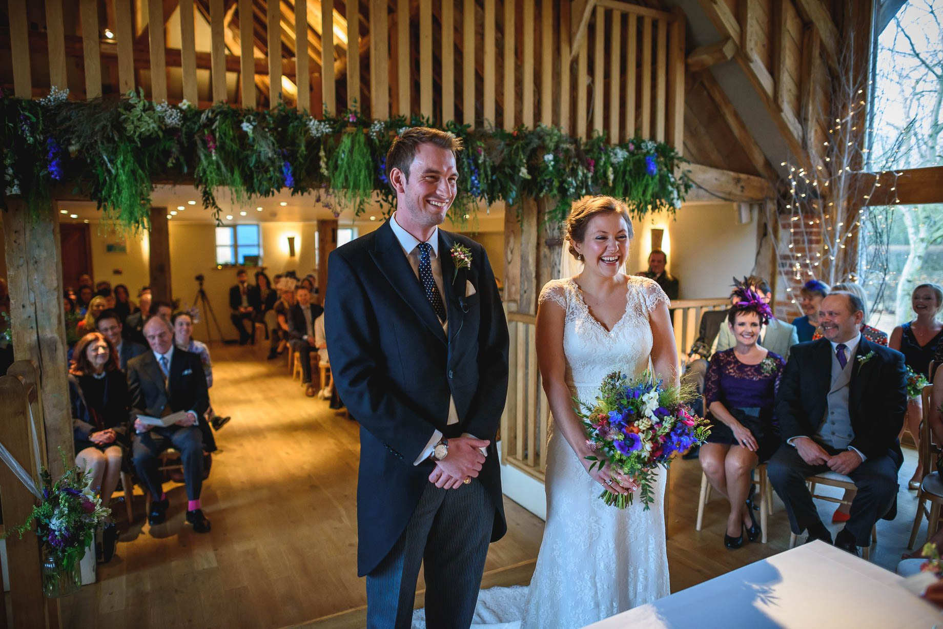 Bury Court Barn wedding photography - Ashley and Henry by Guy Collier Photography (44 of 188)