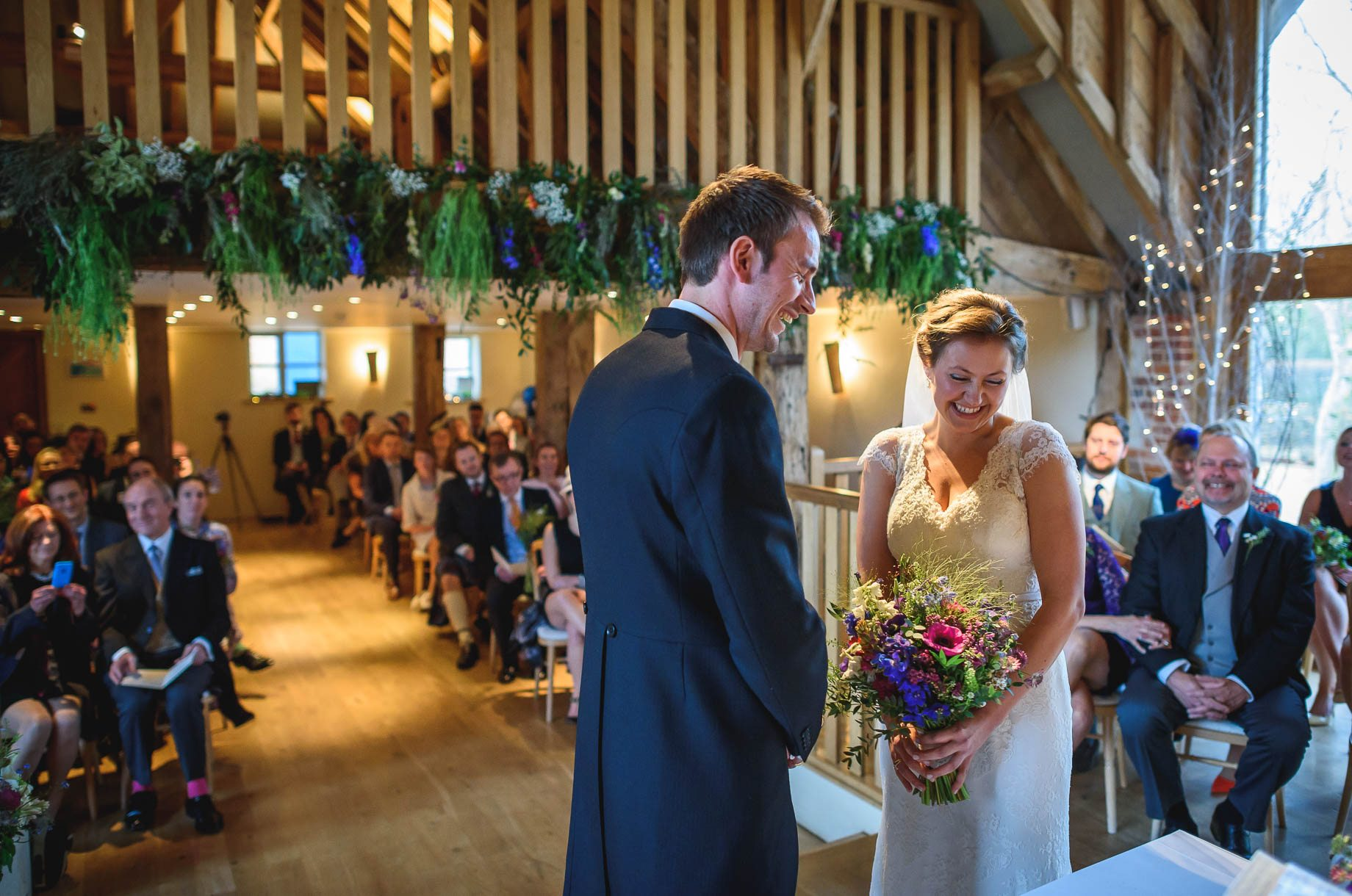Bury Court Barn wedding photography - Ashley and Henry by Guy Collier Photography (47 of 188)
