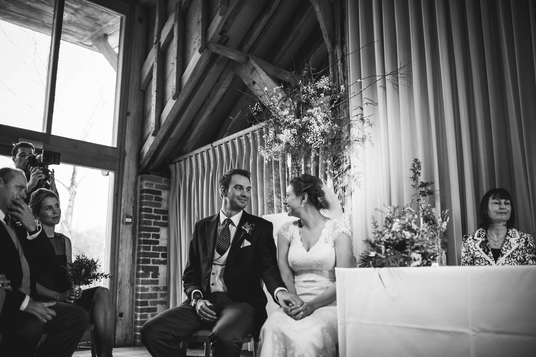 Bury Court Barn wedding photography - Ashley and Henry by Guy Collier Photography (48 of 188)