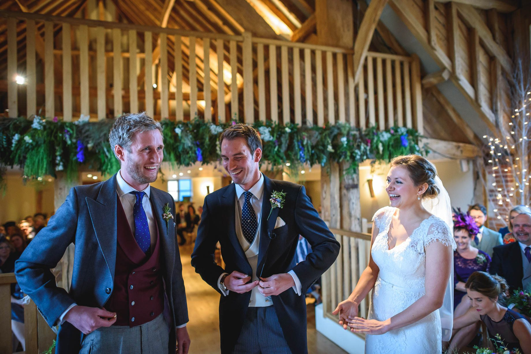 Bury Court Barn wedding photography - Ashley and Henry by Guy Collier Photography (50 of 188)