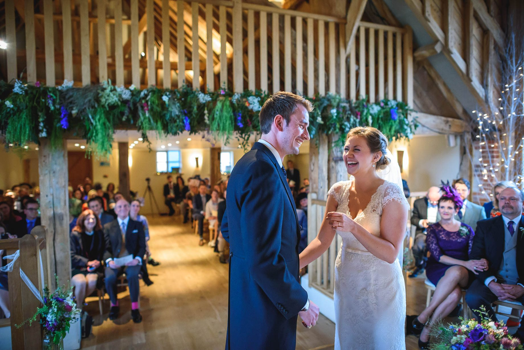 Bury Court Barn wedding photography - Ashley and Henry by Guy Collier Photography (51 of 188)