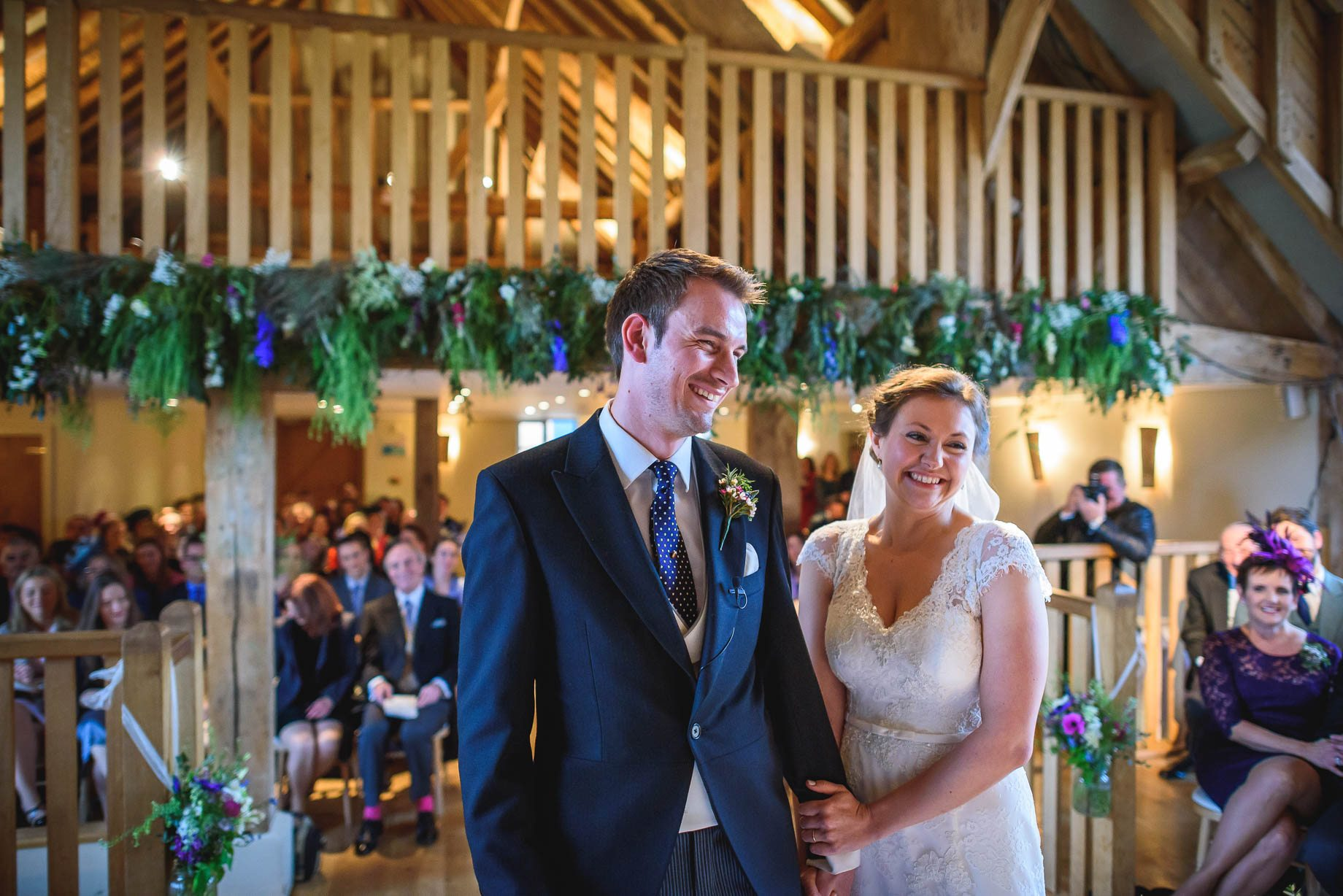 Bury Court Barn wedding photography - Ashley and Henry by Guy Collier Photography (53 of 188)